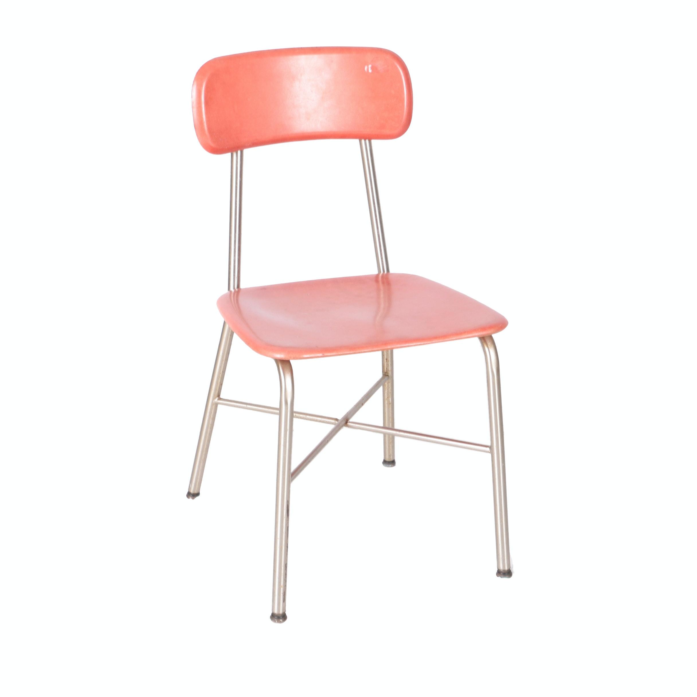 Vintage Mid Century Modern Student Chair by Heywood-Wakefield