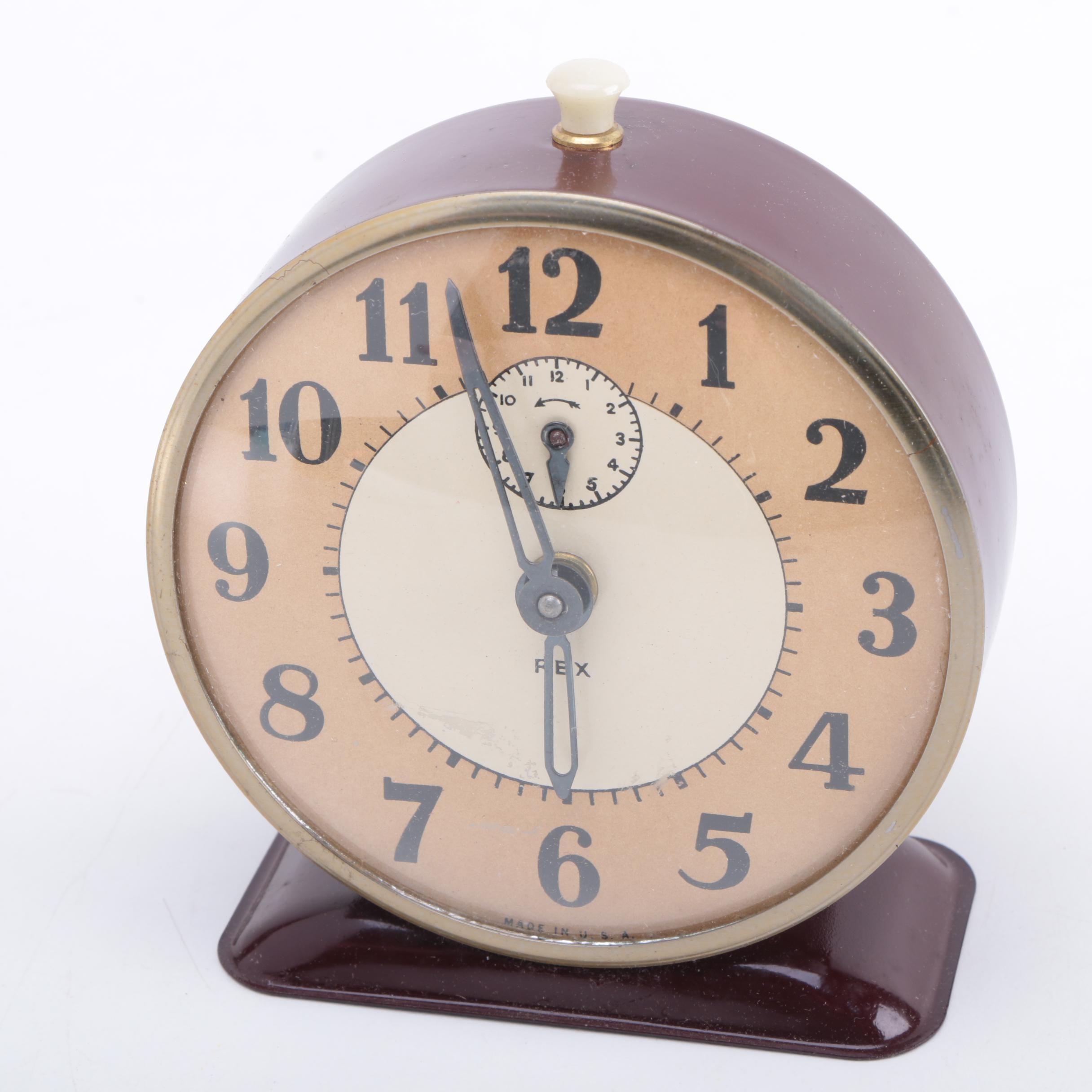 Vintage Rexall Alarm Clock