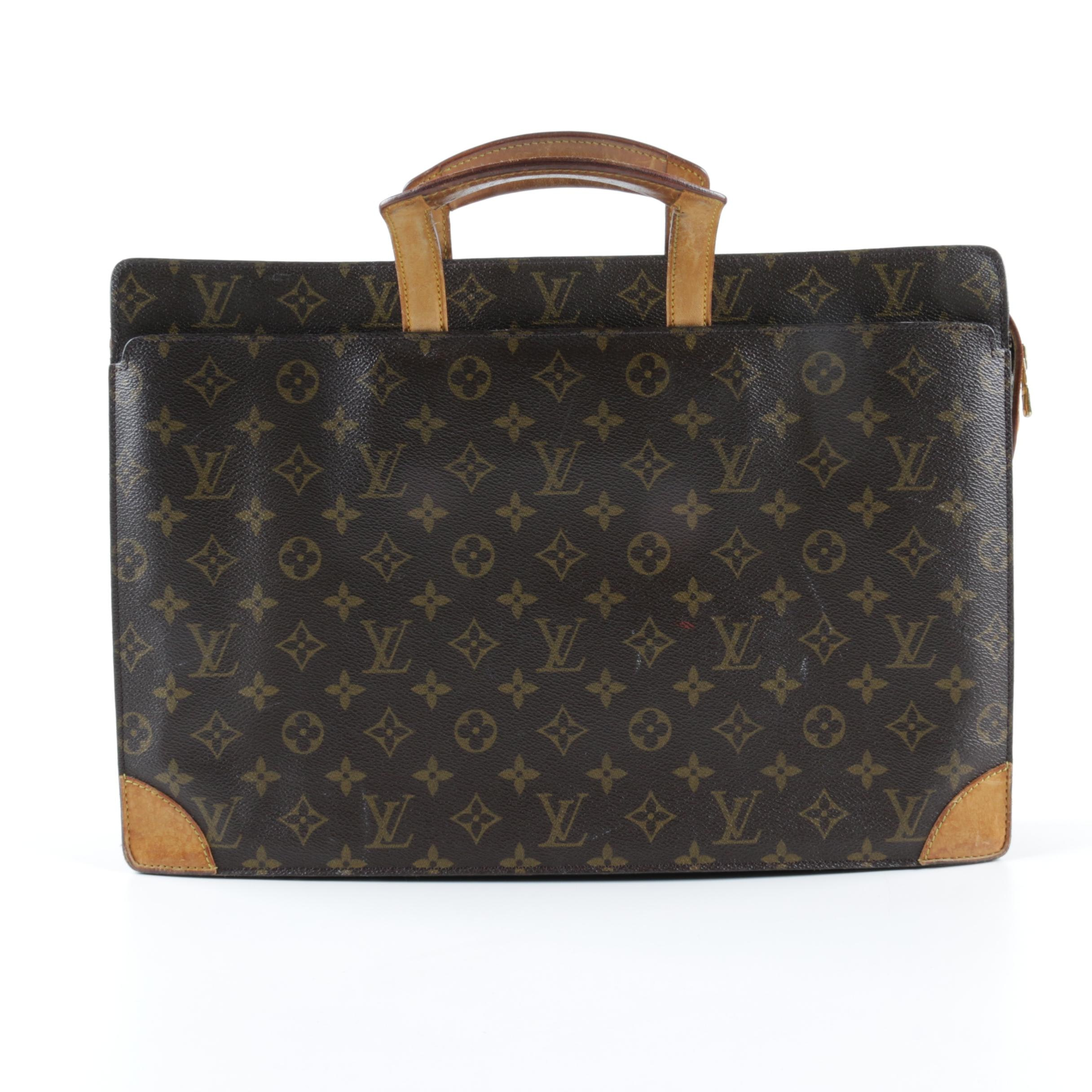 Vintage Louis Vuitton Monogram Briefcase