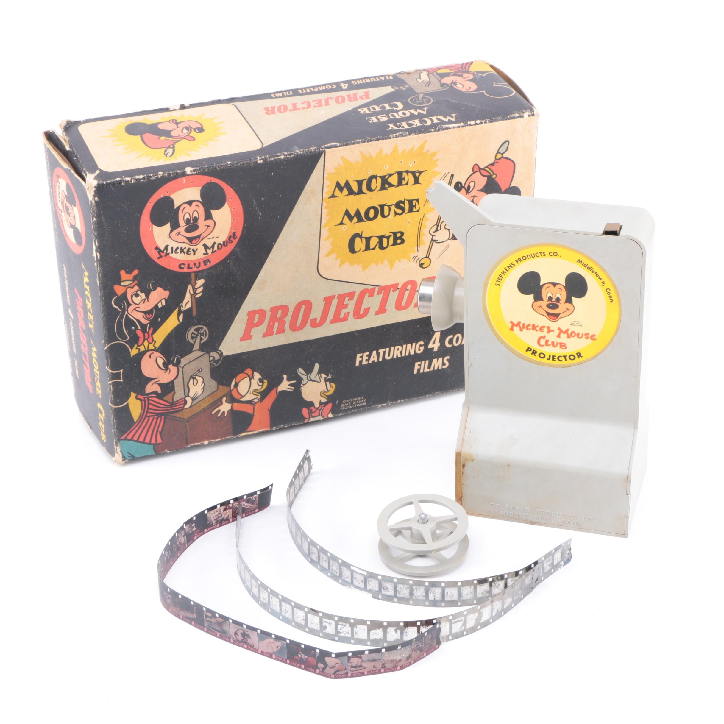 Vintage Mickey Mouse Club Projector