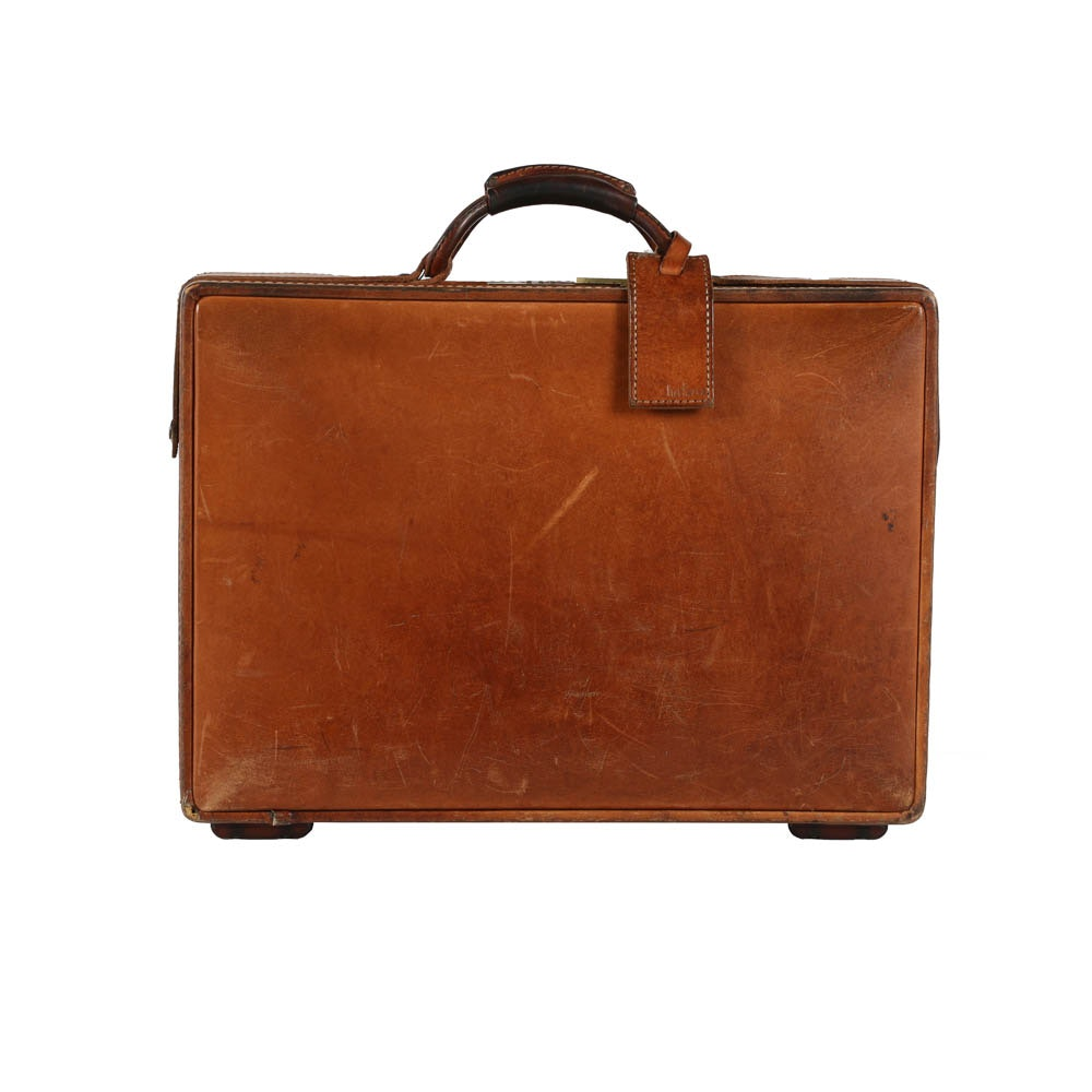 Vintage Hartmann Leather Briefcase