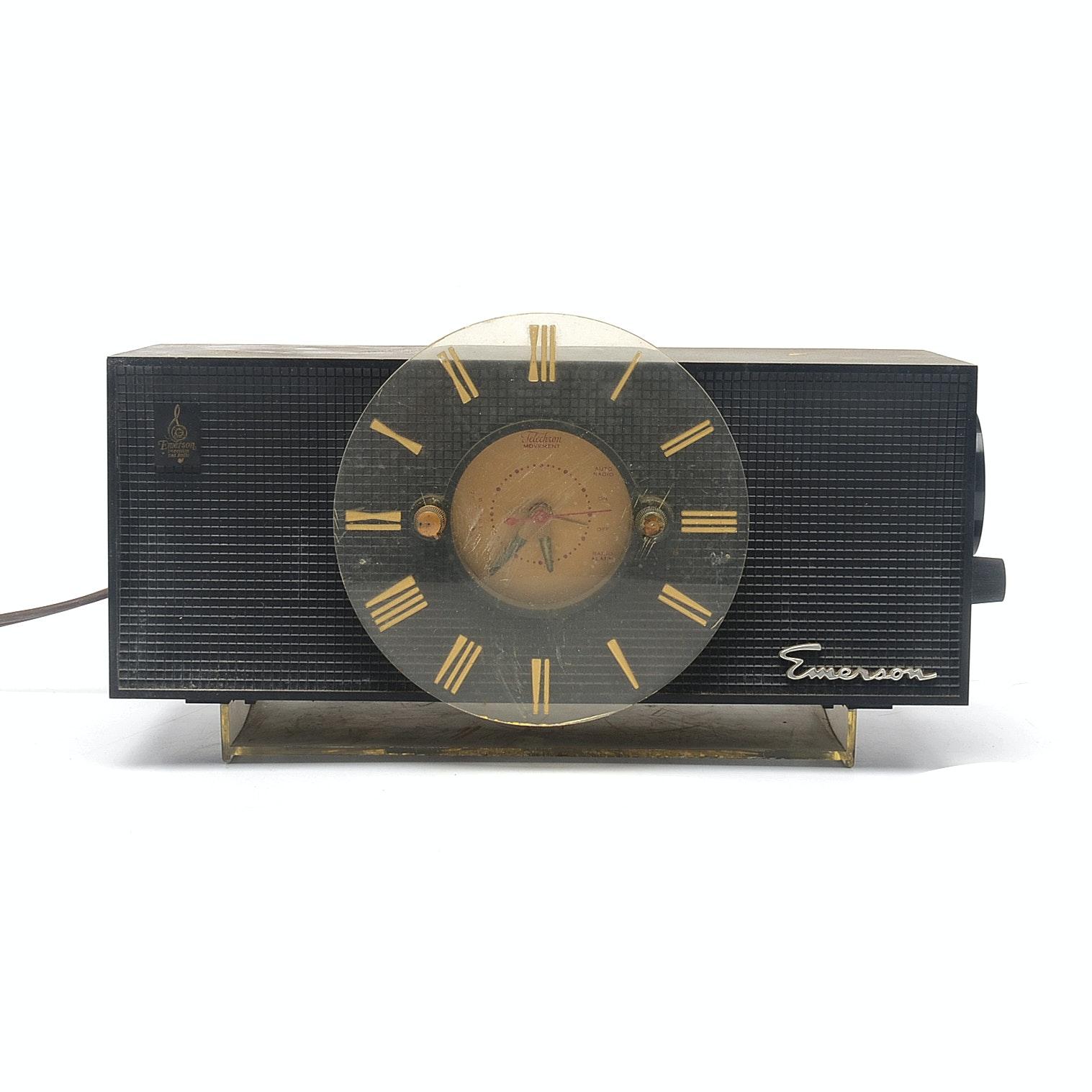 Emerson Radio with Clock