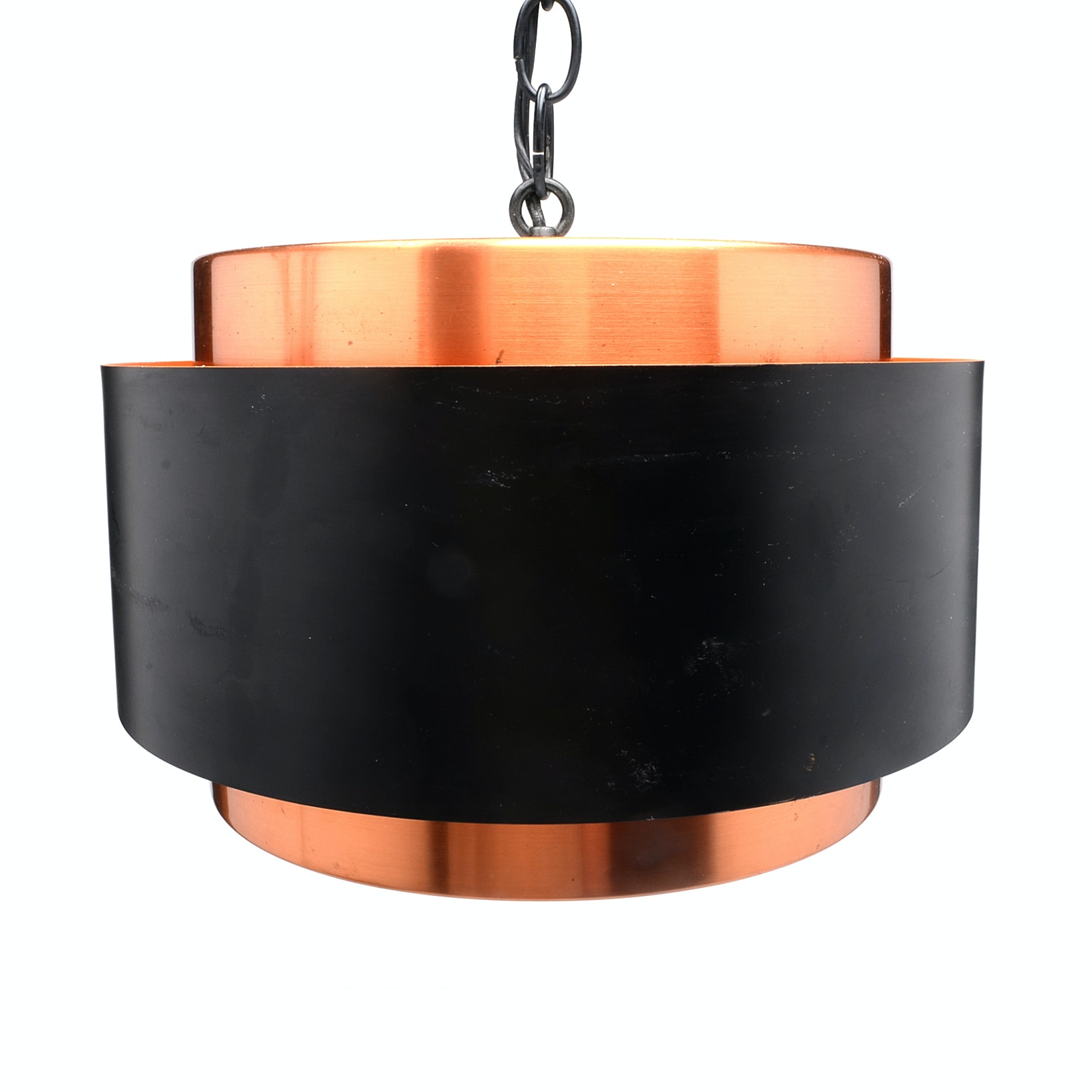 "Danish Modern ""Saturn"" Hanging Lamp by Fog and Morup"
