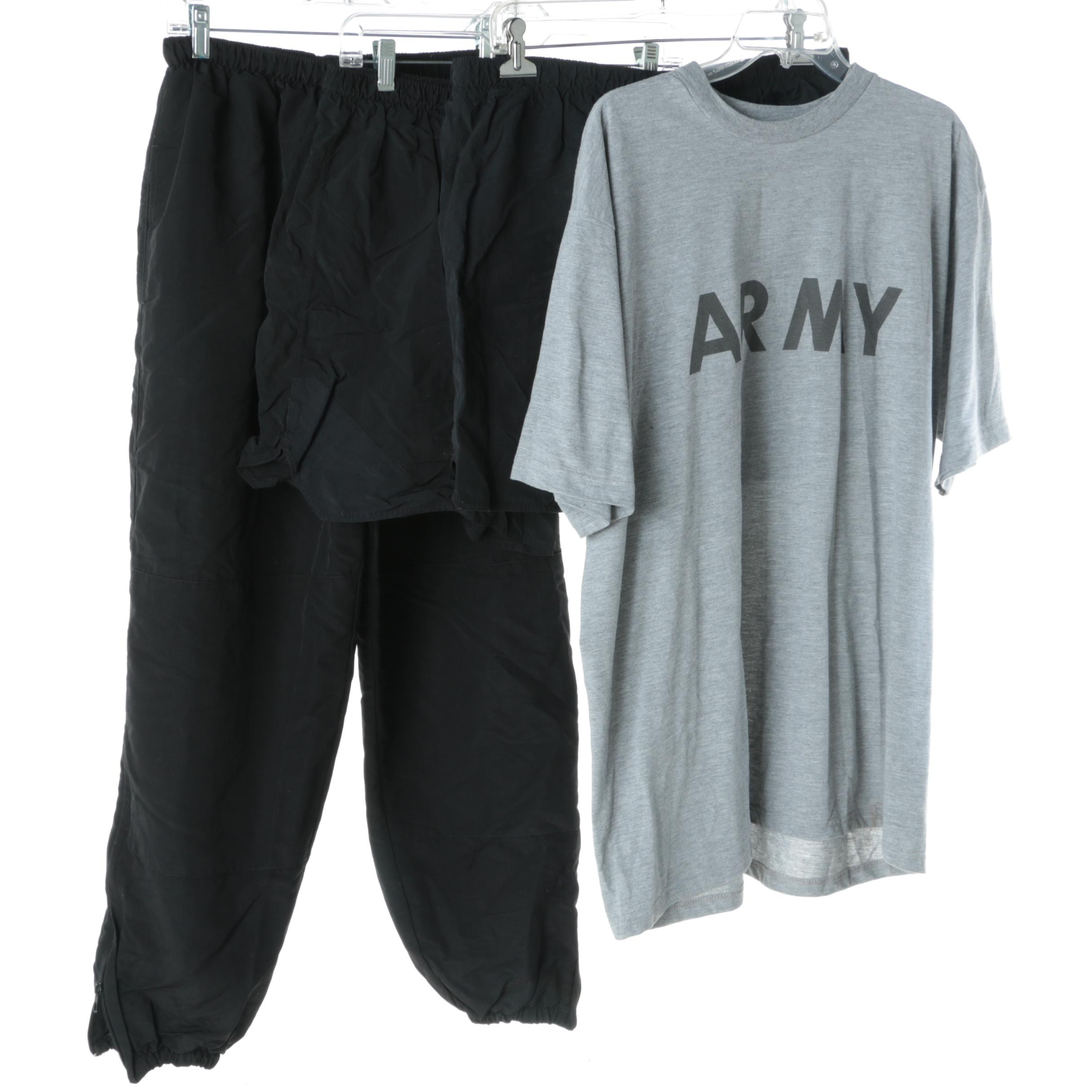 Men's Military Fitness Clothing