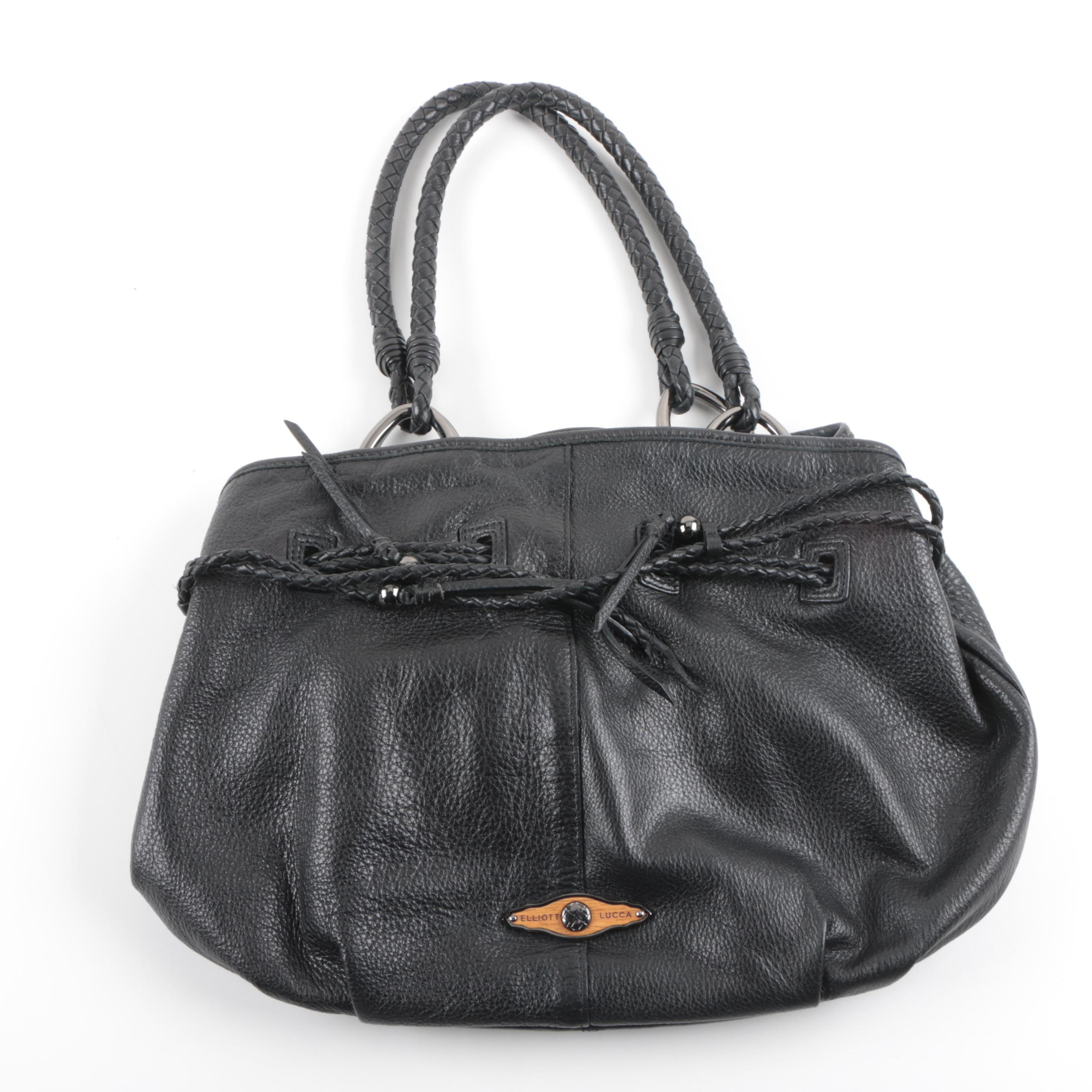 Elliott Lucca Grained Leather Handbag