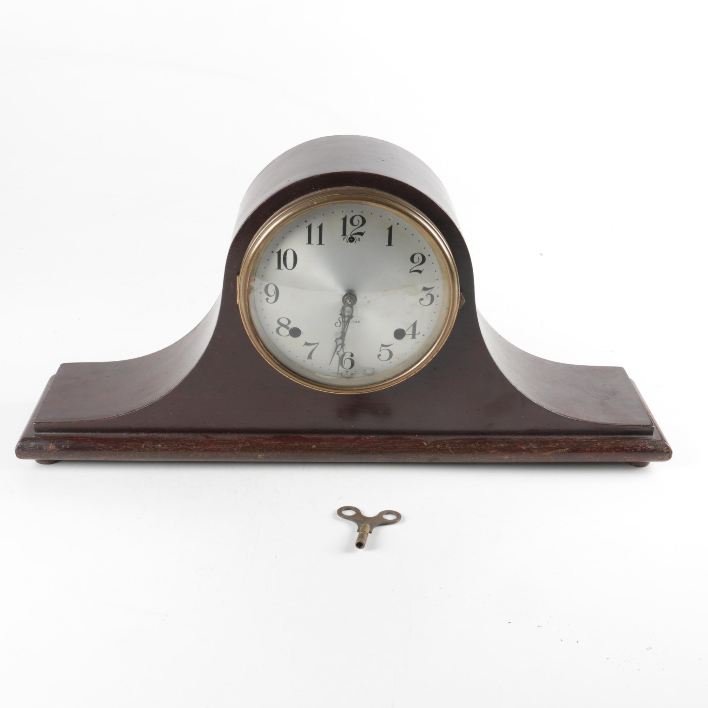 Sessions Tambour Mantle Clock