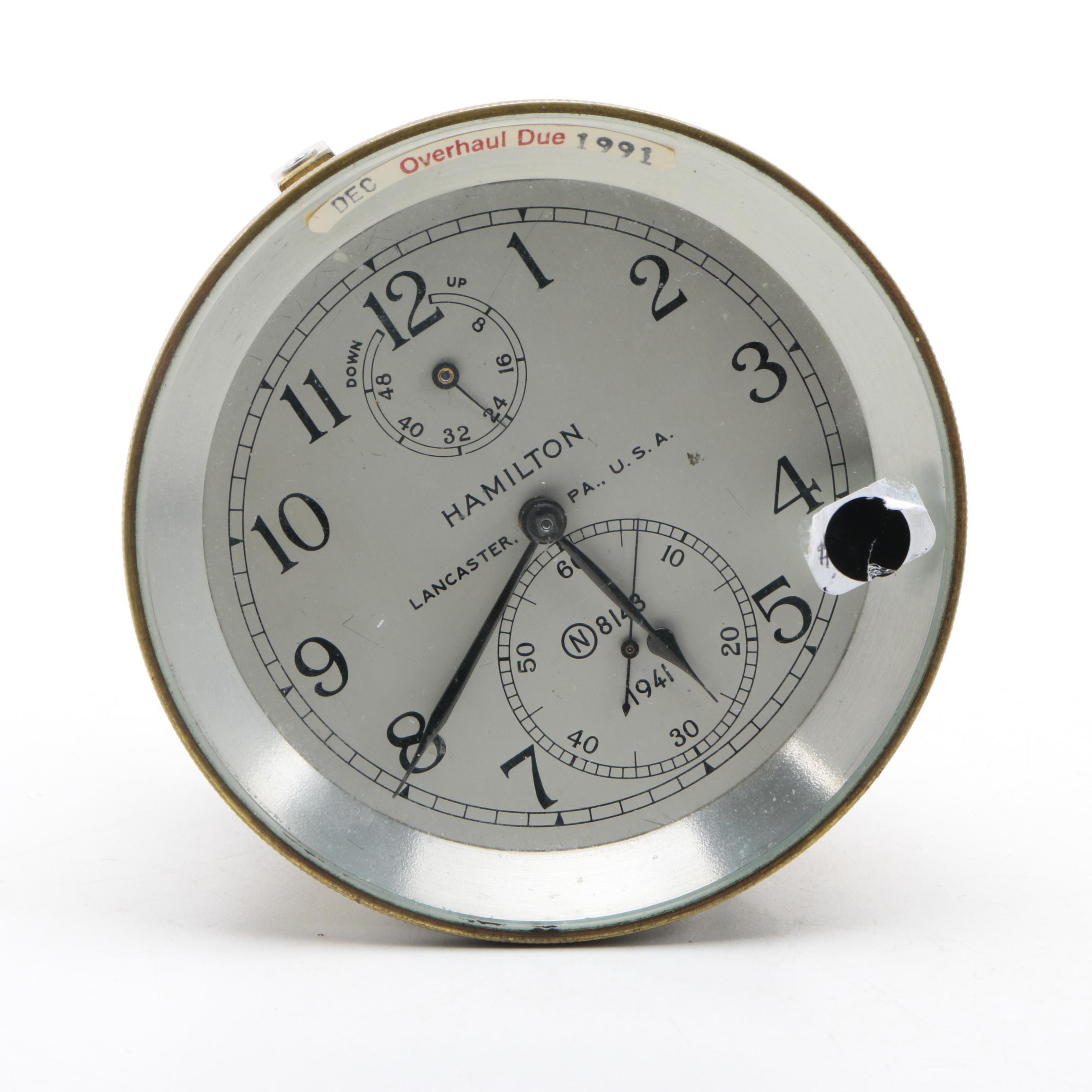 Hamilton Nautical Clock