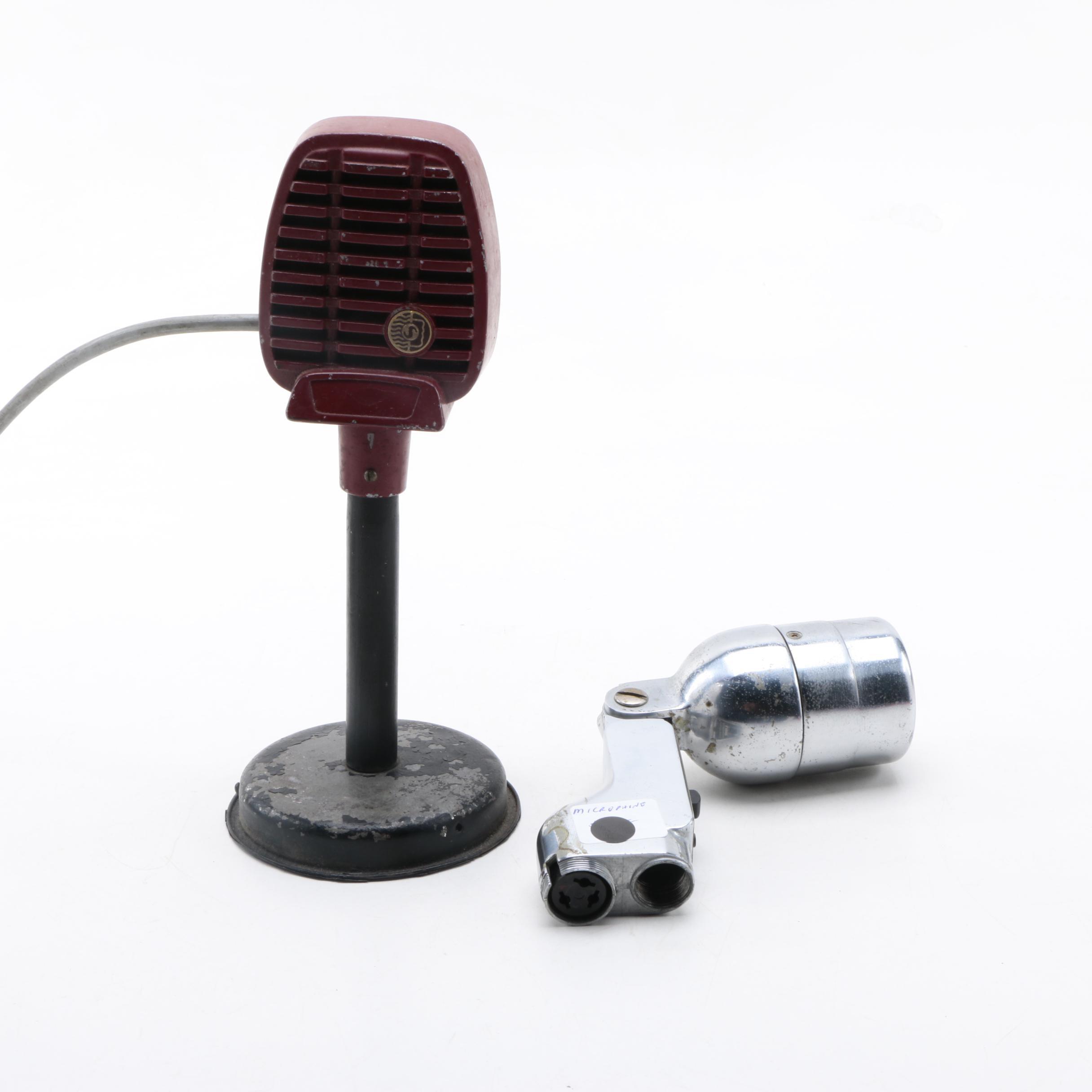 Two Vintage Microphones