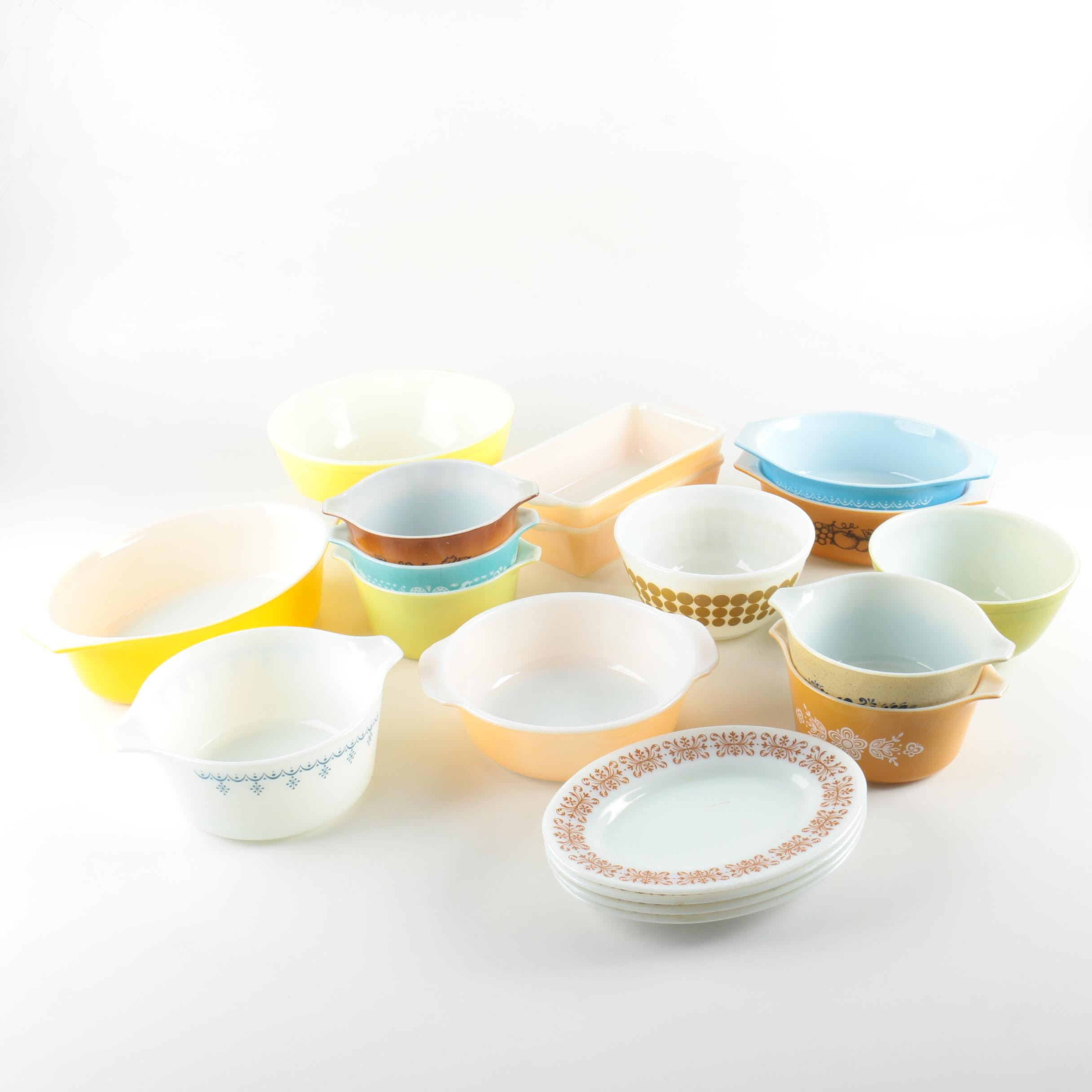 Pyrex and Fire-King Serveware and Bakeware