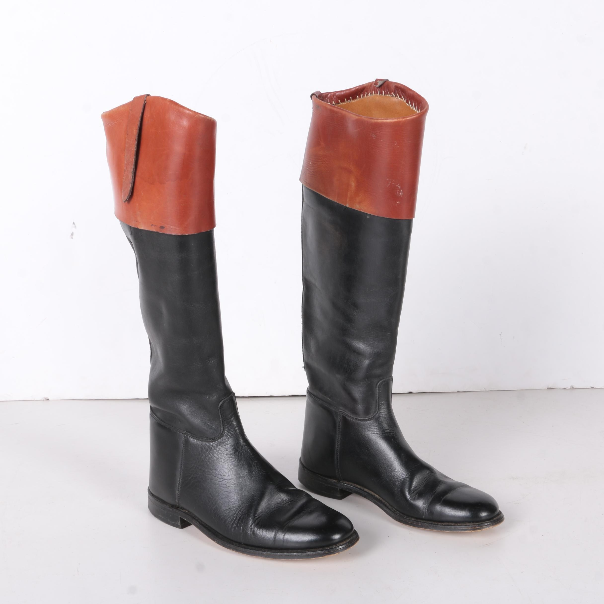 Marlborough English Leather Equestrian Riding Boots