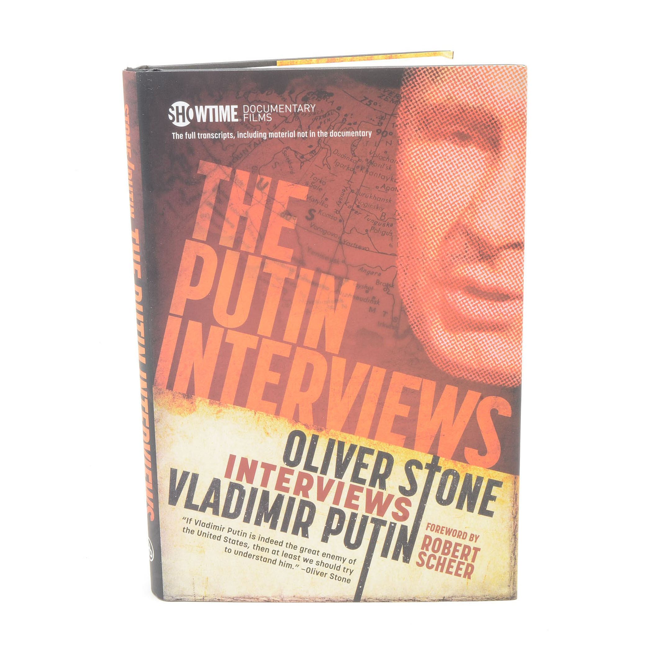 """Signed """"The Putin Interviews"""" by Oliver Stone with COA"""