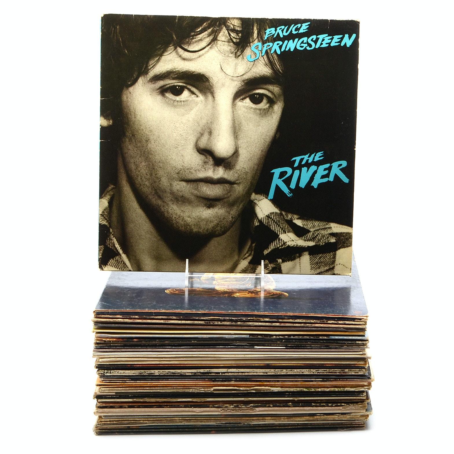 Vintage Vinyl LPs Including Rock, Soft Rock, and More