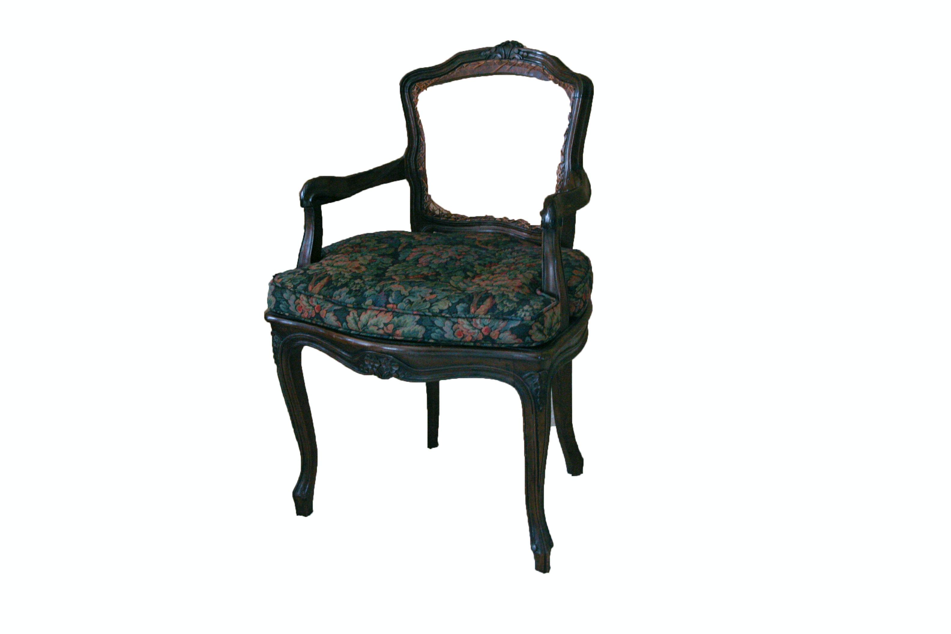 Louis XV Style Arm Chair