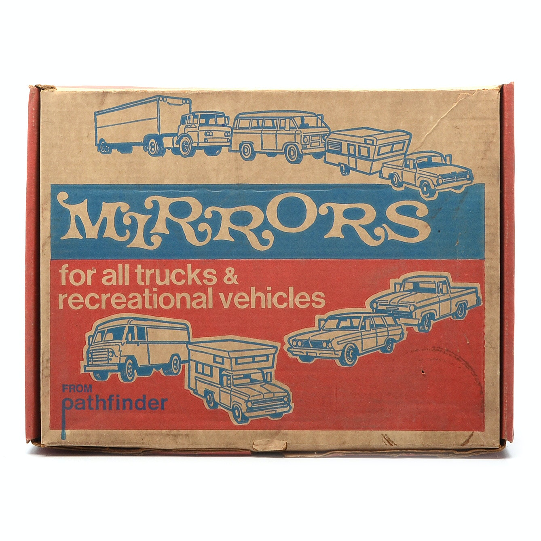 Pairing of Vintage Pathfinder Automotive Mirrors