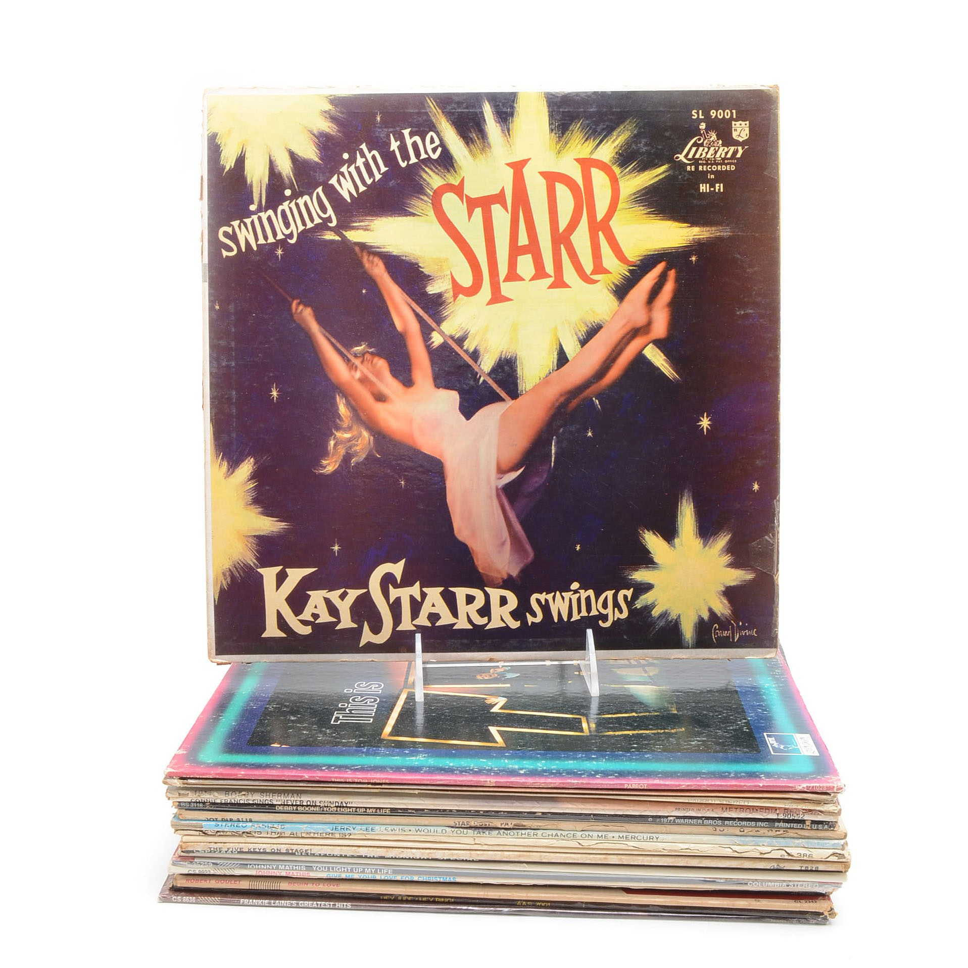 Collection of Vintage Pop and Jazz Albums