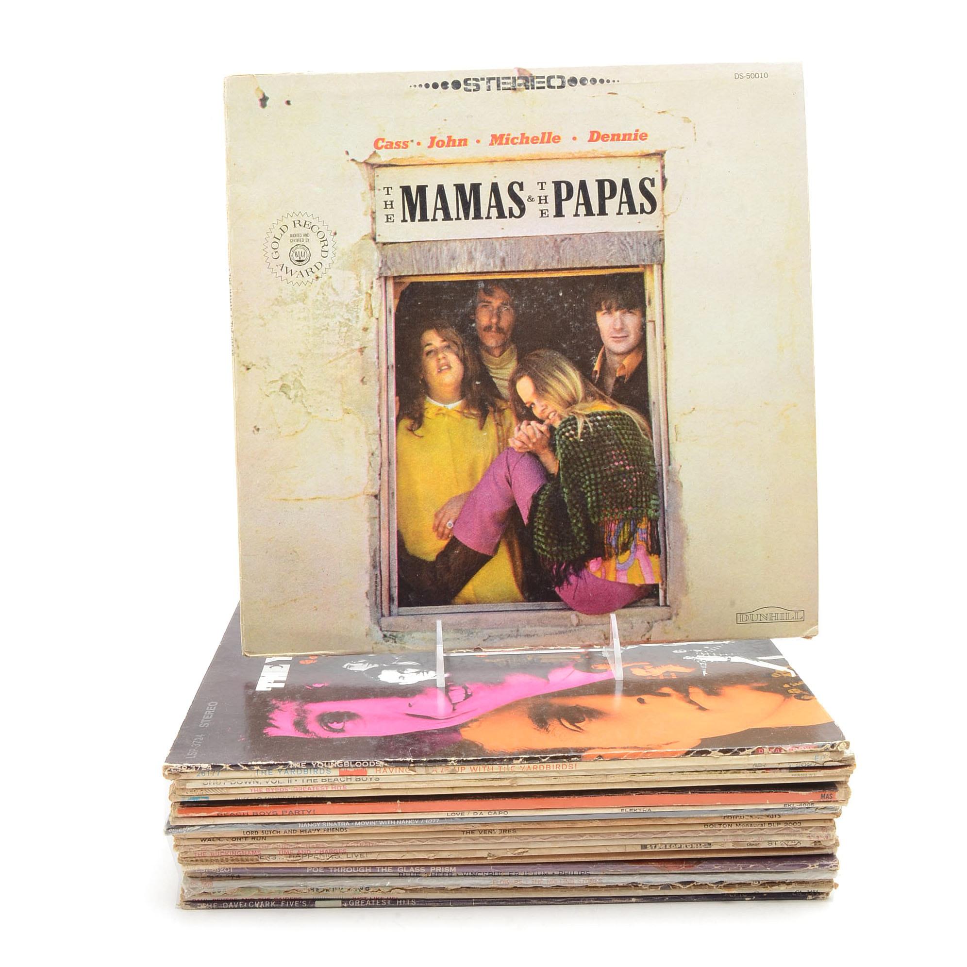 1960's Garage Rock and British Invasion Vinyl LPs