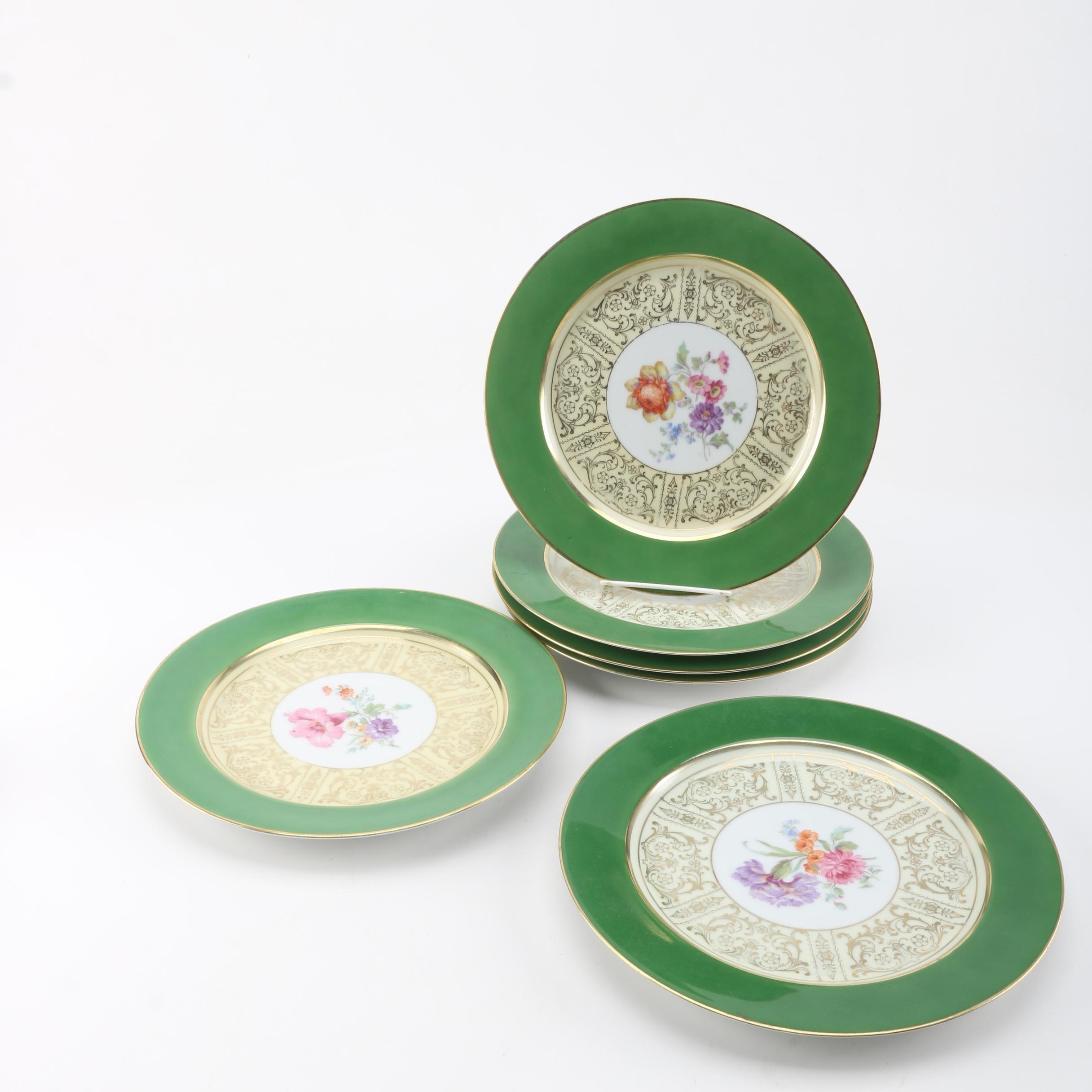 Vintage Tirschenreuth Porcelain Plates ca. 1927-69