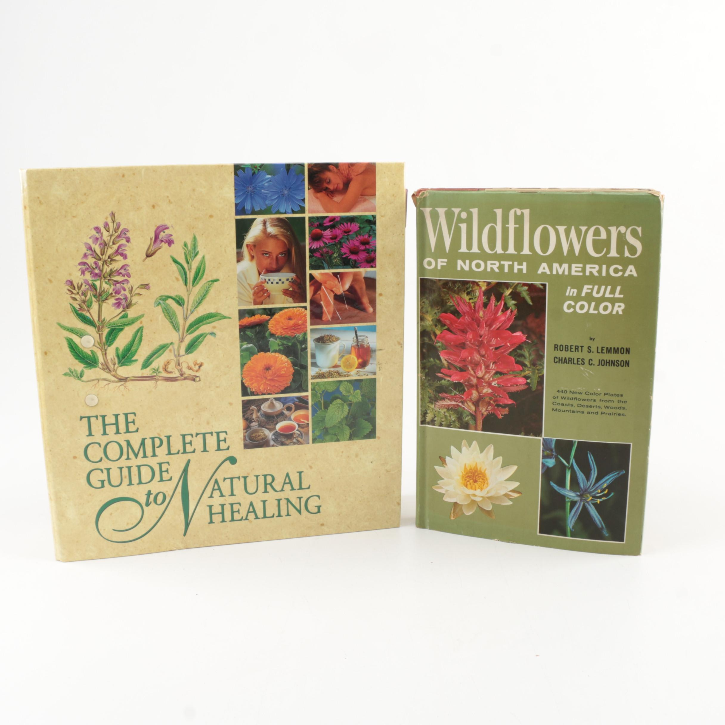 """The Complete Guide to Natural Healing"" and ""Wildflowers of North America"""