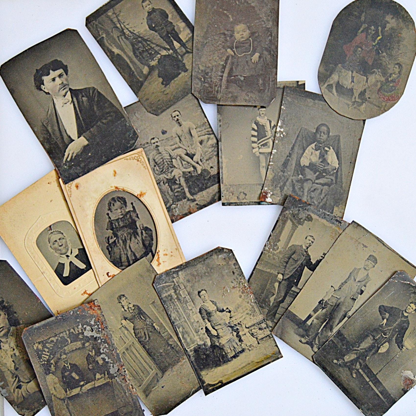 19th-Century Tintype Photographs