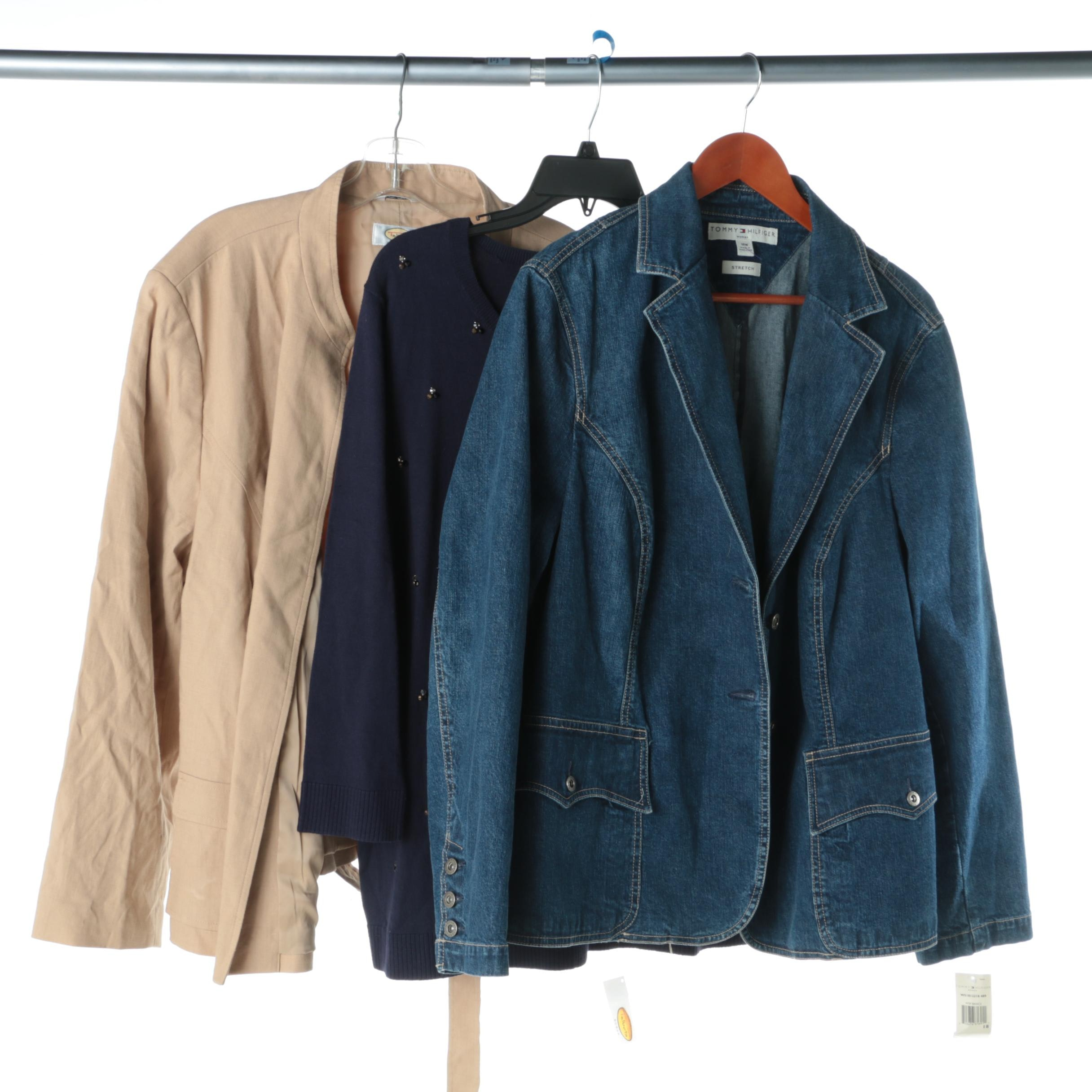 Women's Jackets and Sweater Including Tommy Hilfiger