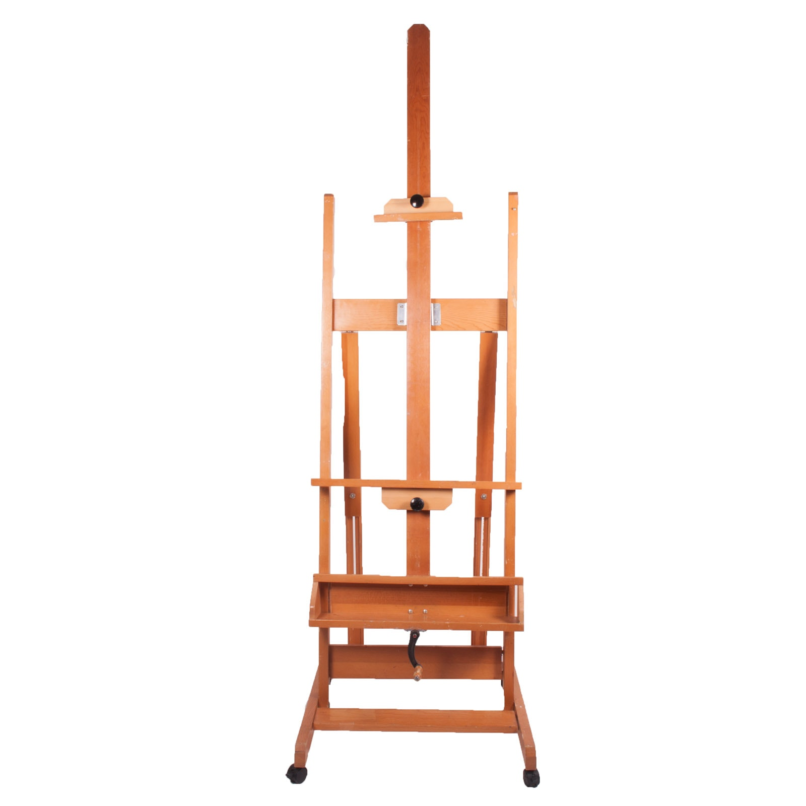 "Large Wooden ""Greenwich"" Art Studio Easel by Anco"