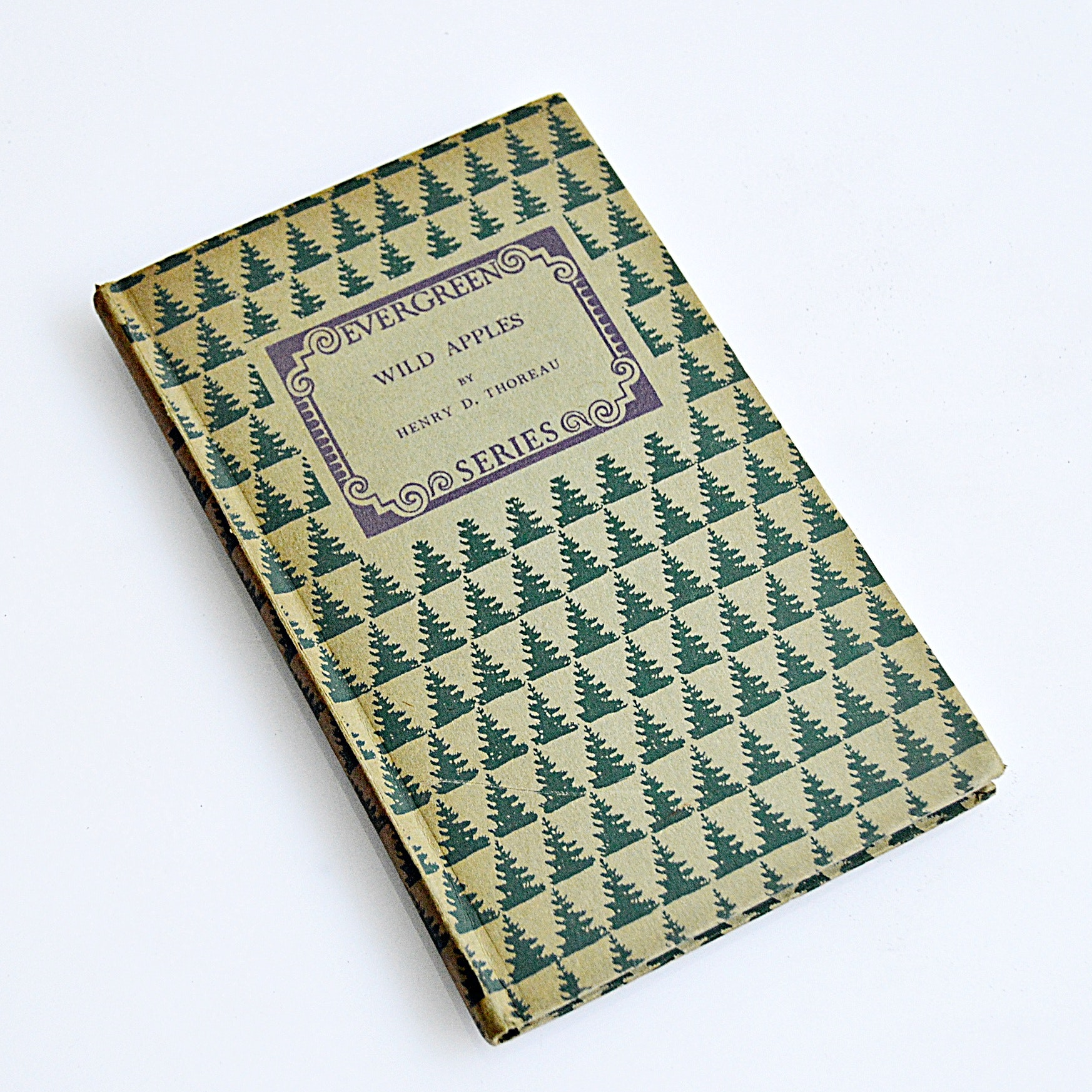 "1923 Edition of ""Wild Apples"" by Henry David Thoreau"