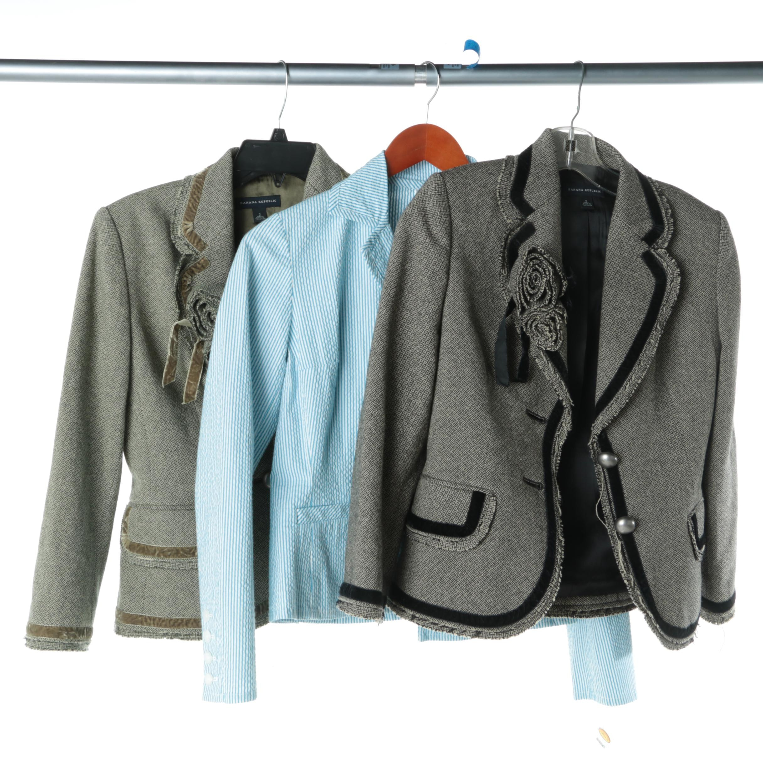 Women's Suit Jackets Including Banana Republic