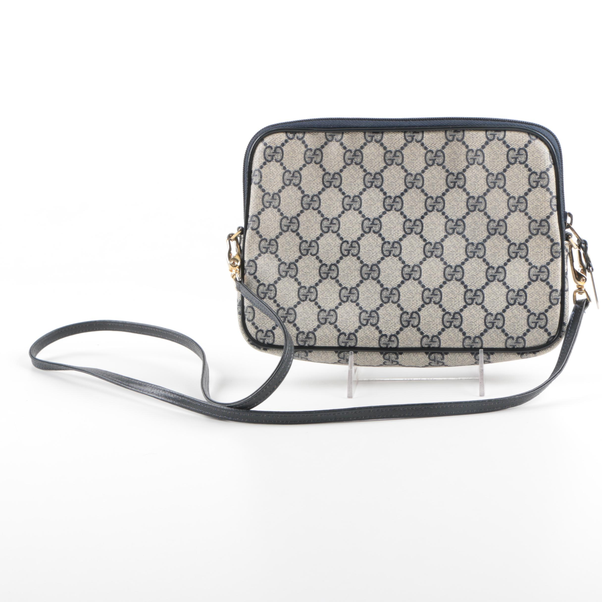 Gucci Coated Canvas Cross-Body Bag