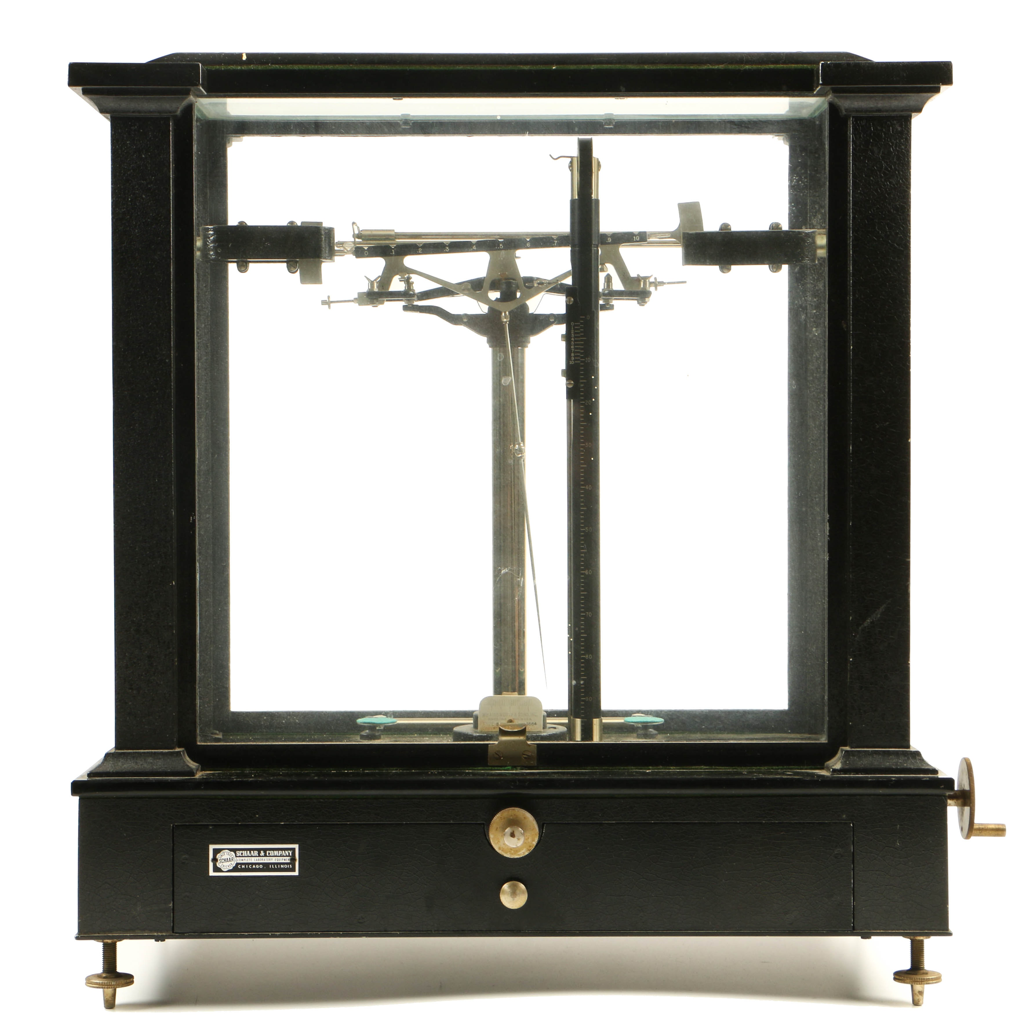 Wm. Ainsworth & Sons Type BB Precision Analytical Balance Scale
