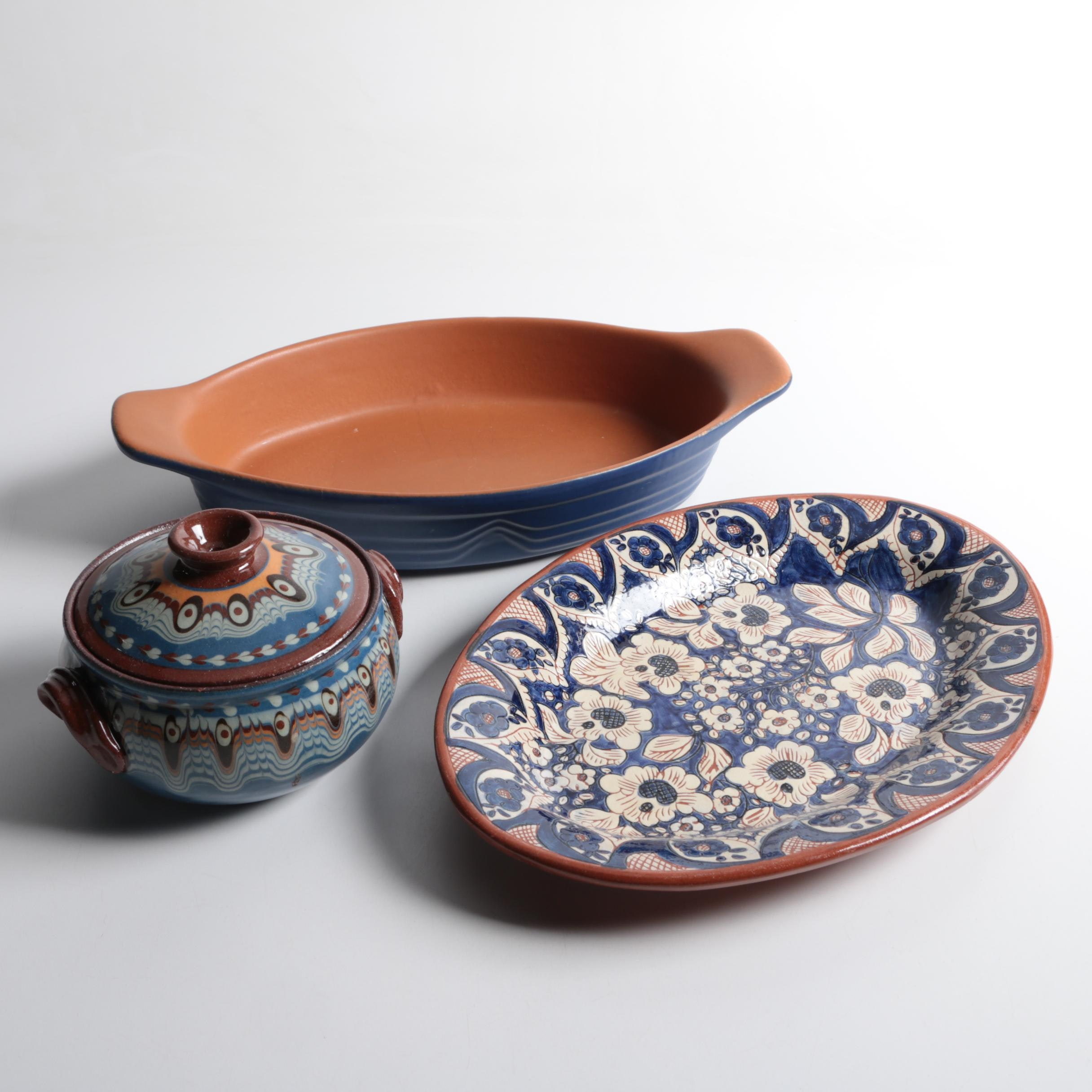 EarthenwareTableware Including Portugese Pottery
