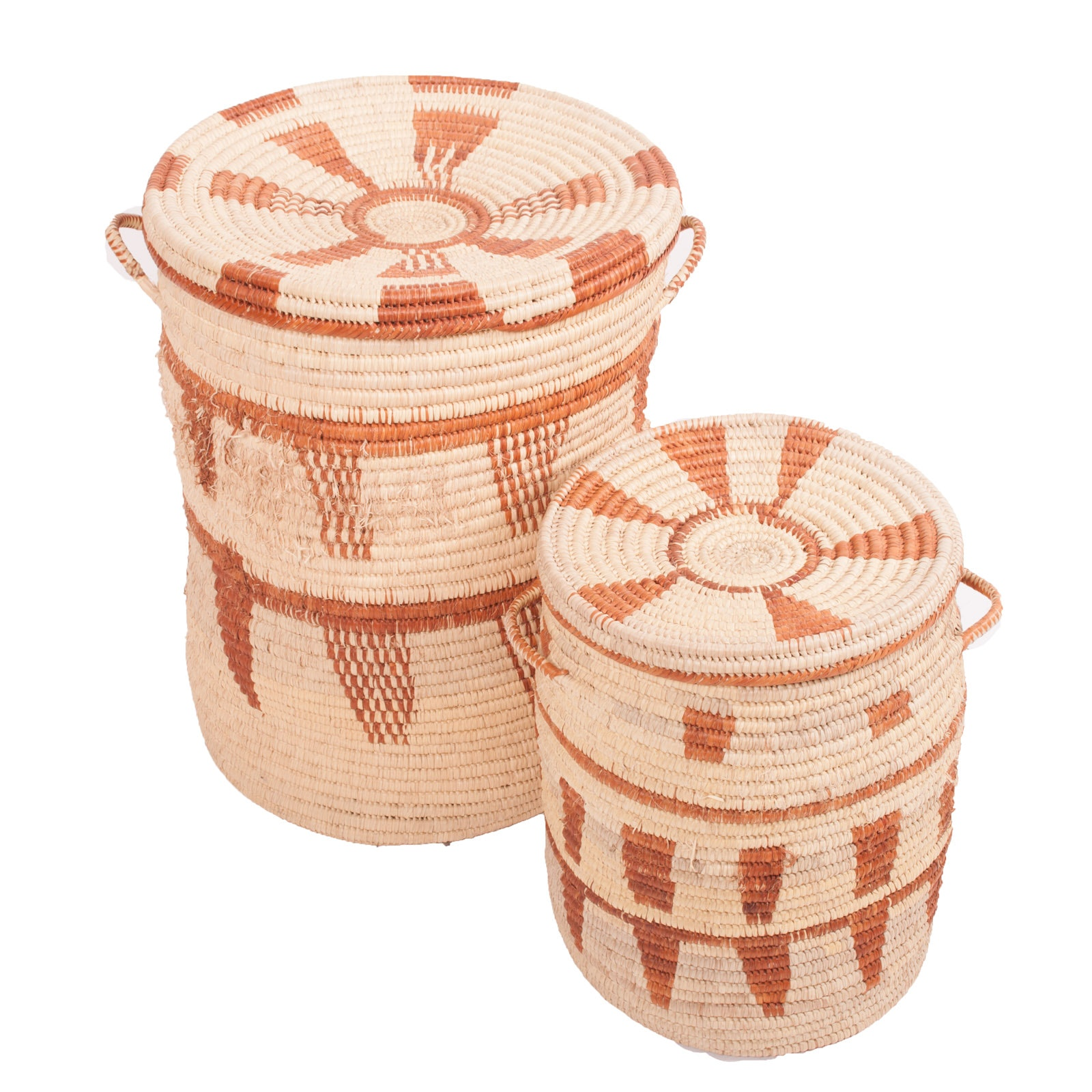 Large Grass Coil Baskets