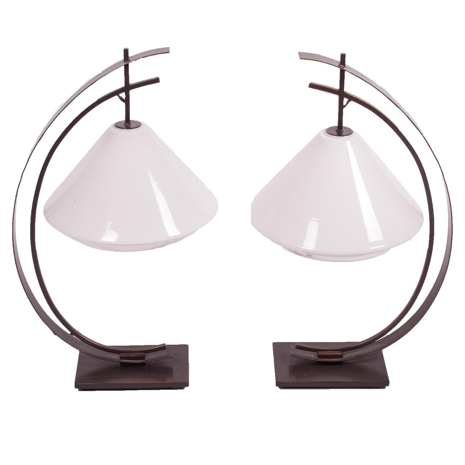 Kathy Ireland Orbit Table Lamps