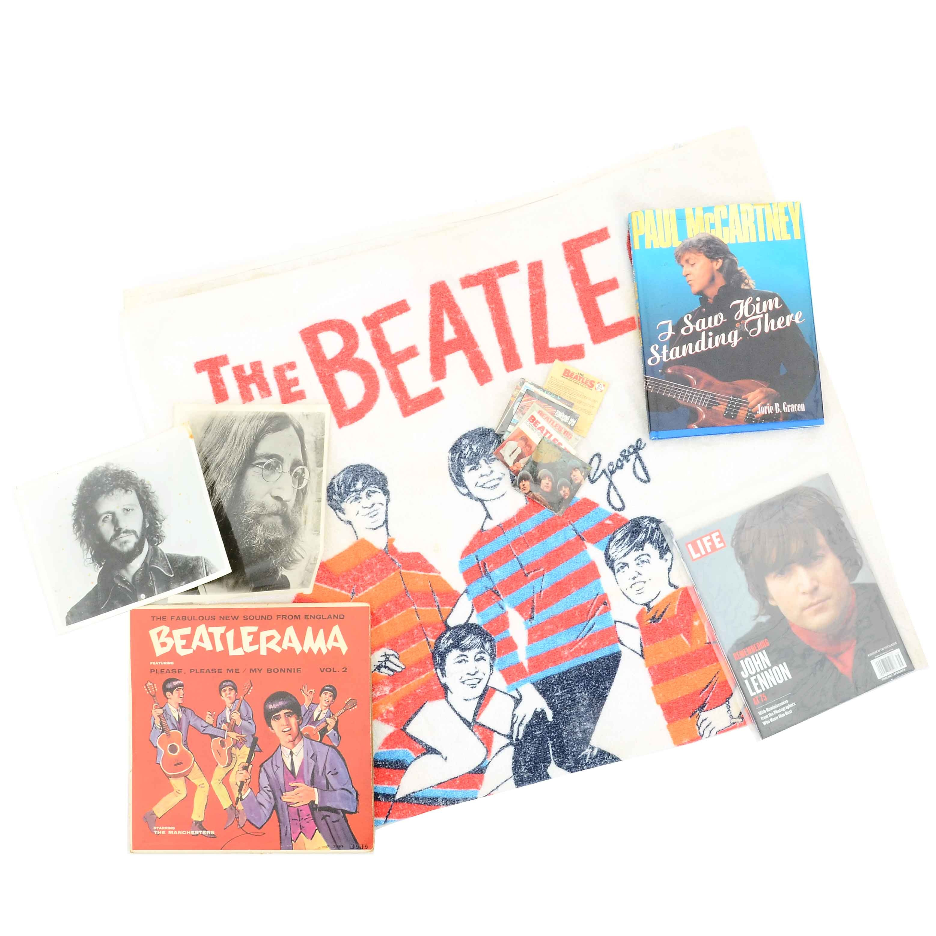 Vintage Beatles Collectibles