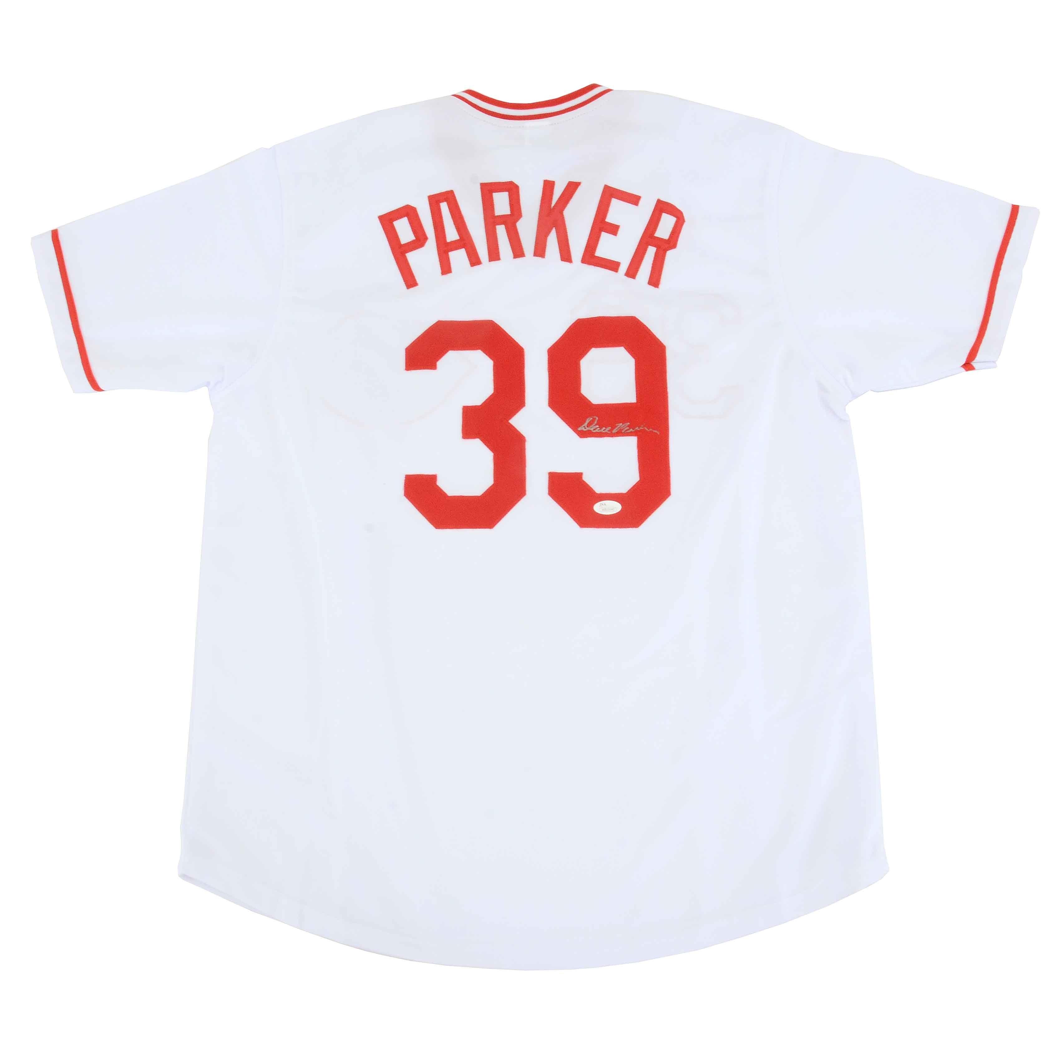 Dave Parker Autographed Jersey  COA