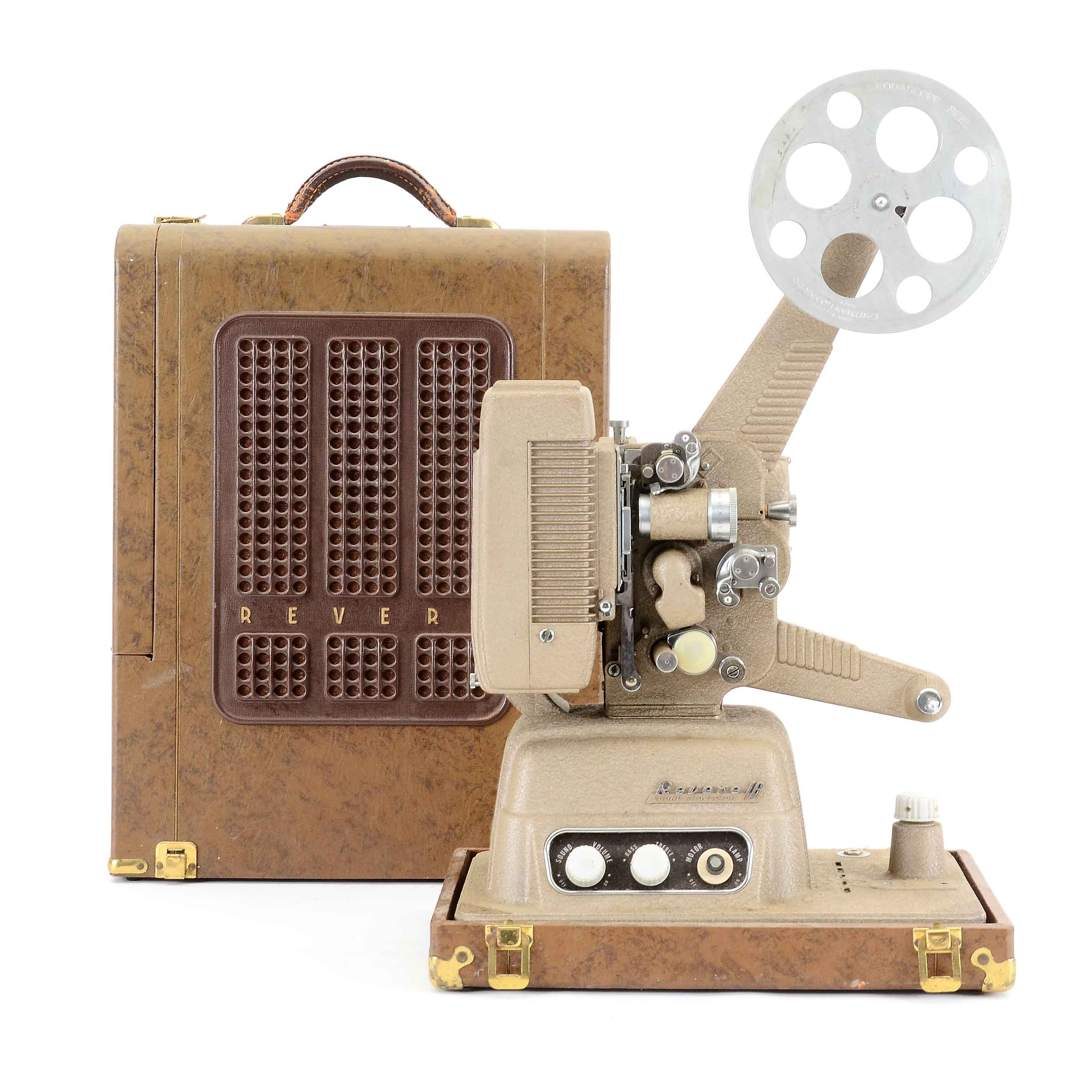 Revere 16mm Projector with case
