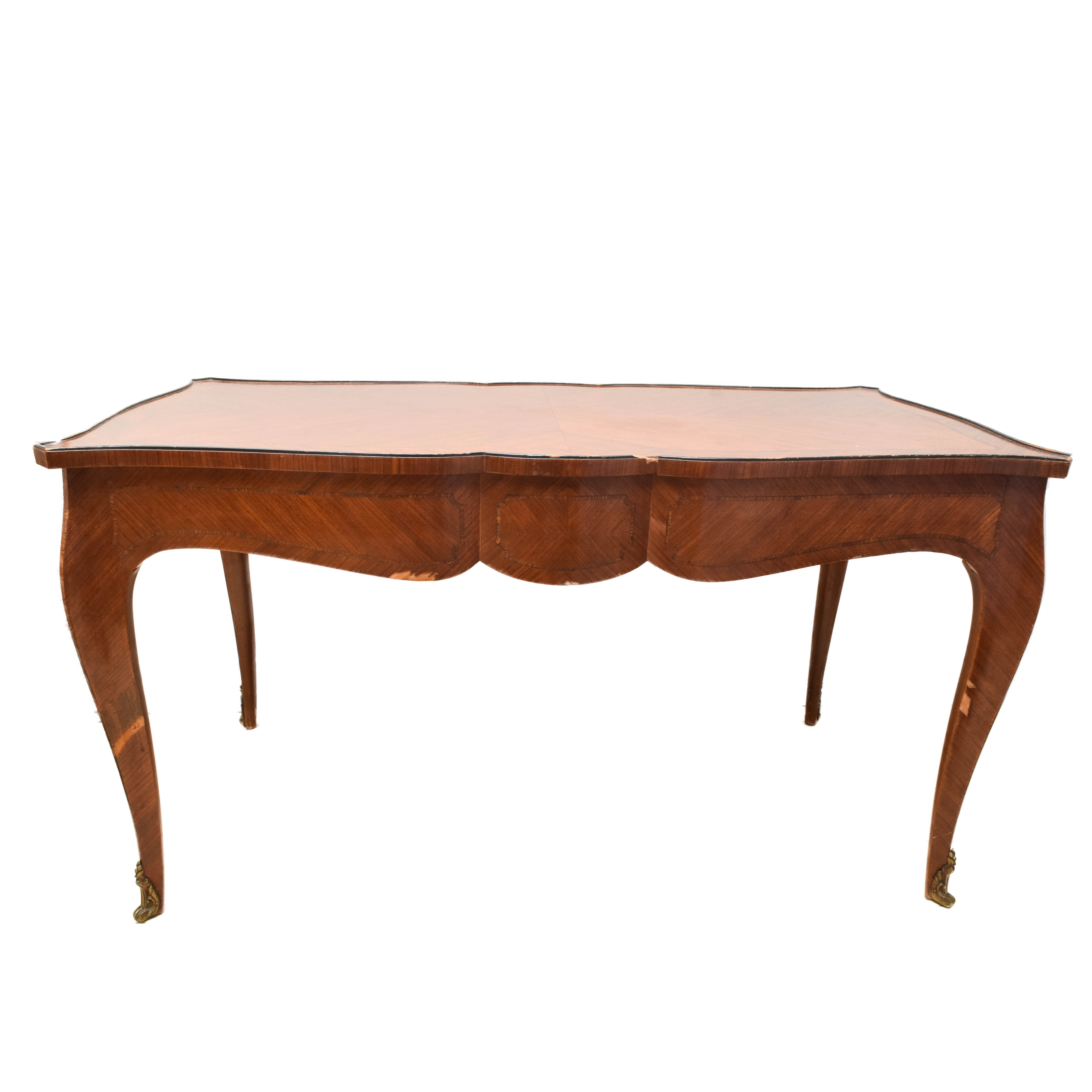 French Marquetry Coffee Table