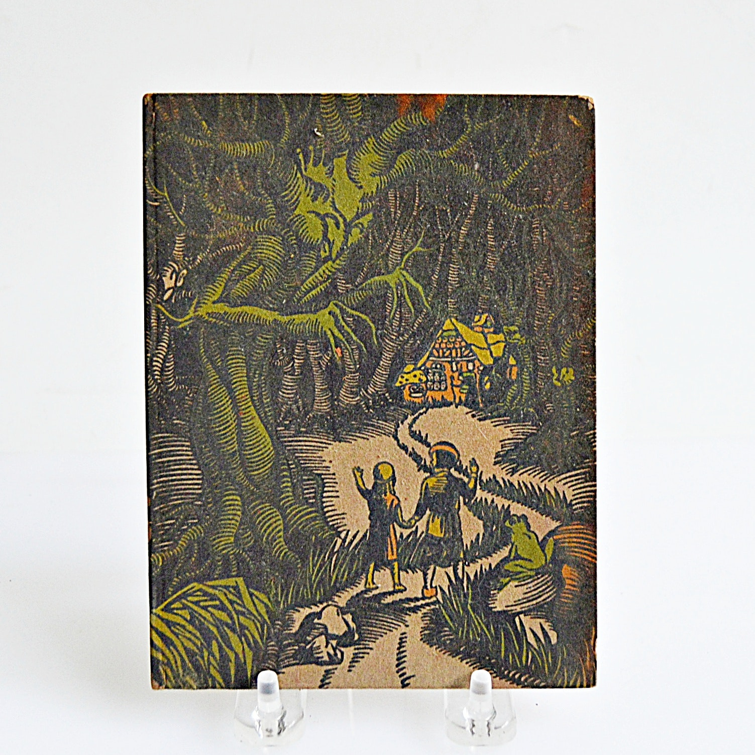 """1936 Arts and Crafts Edition of """"Hansel & Grethel"""" by The Brothers Grimm"""