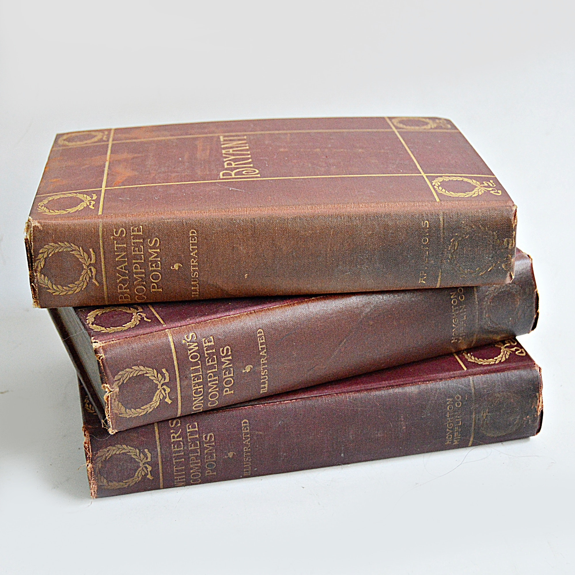 Late 19th-Early 20th Century Poetry Books