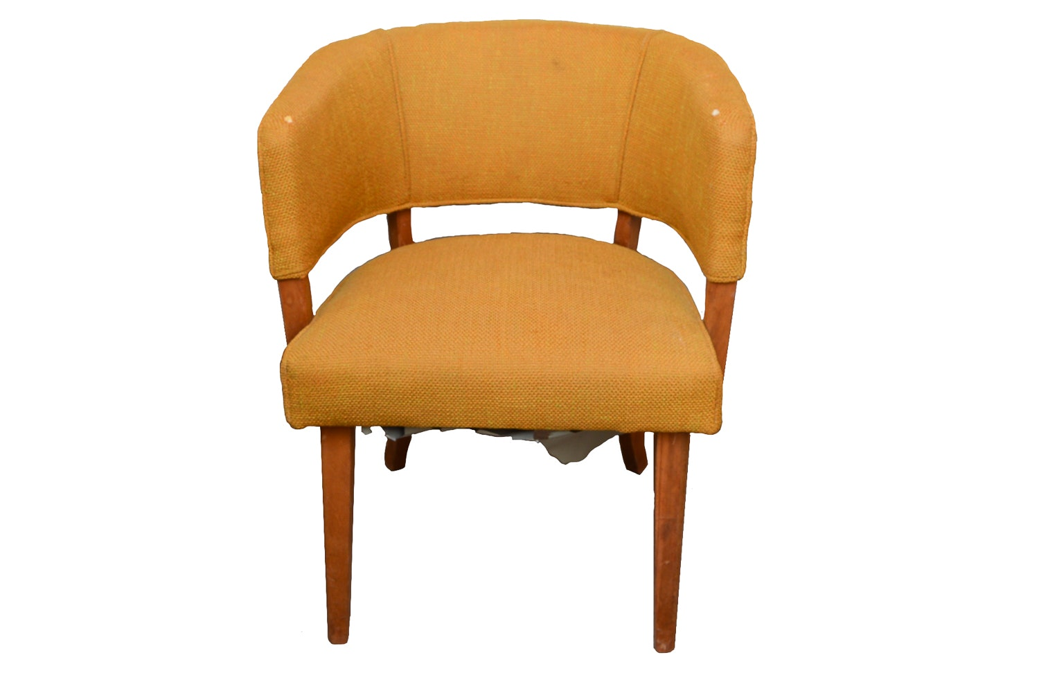 Mid Century Modern Barrel Chair ...