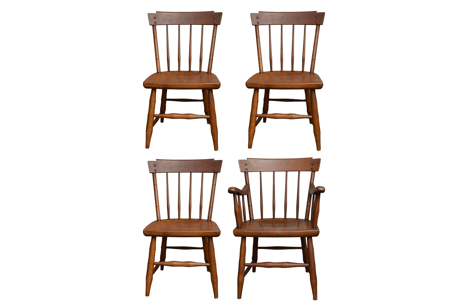 Four Windsor Style Dining Chairs by Heywood-Wakefield