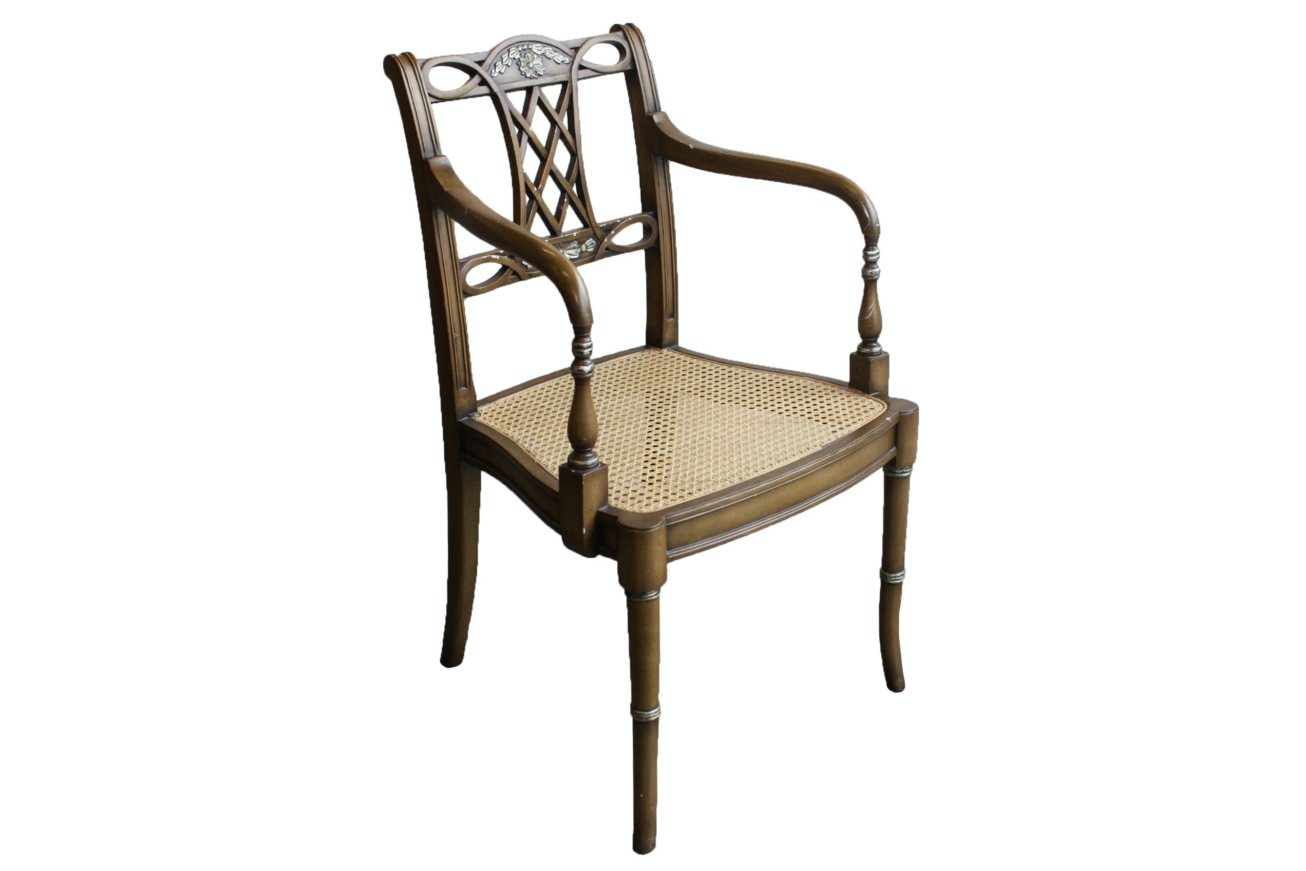 Sheraton Style Armchair