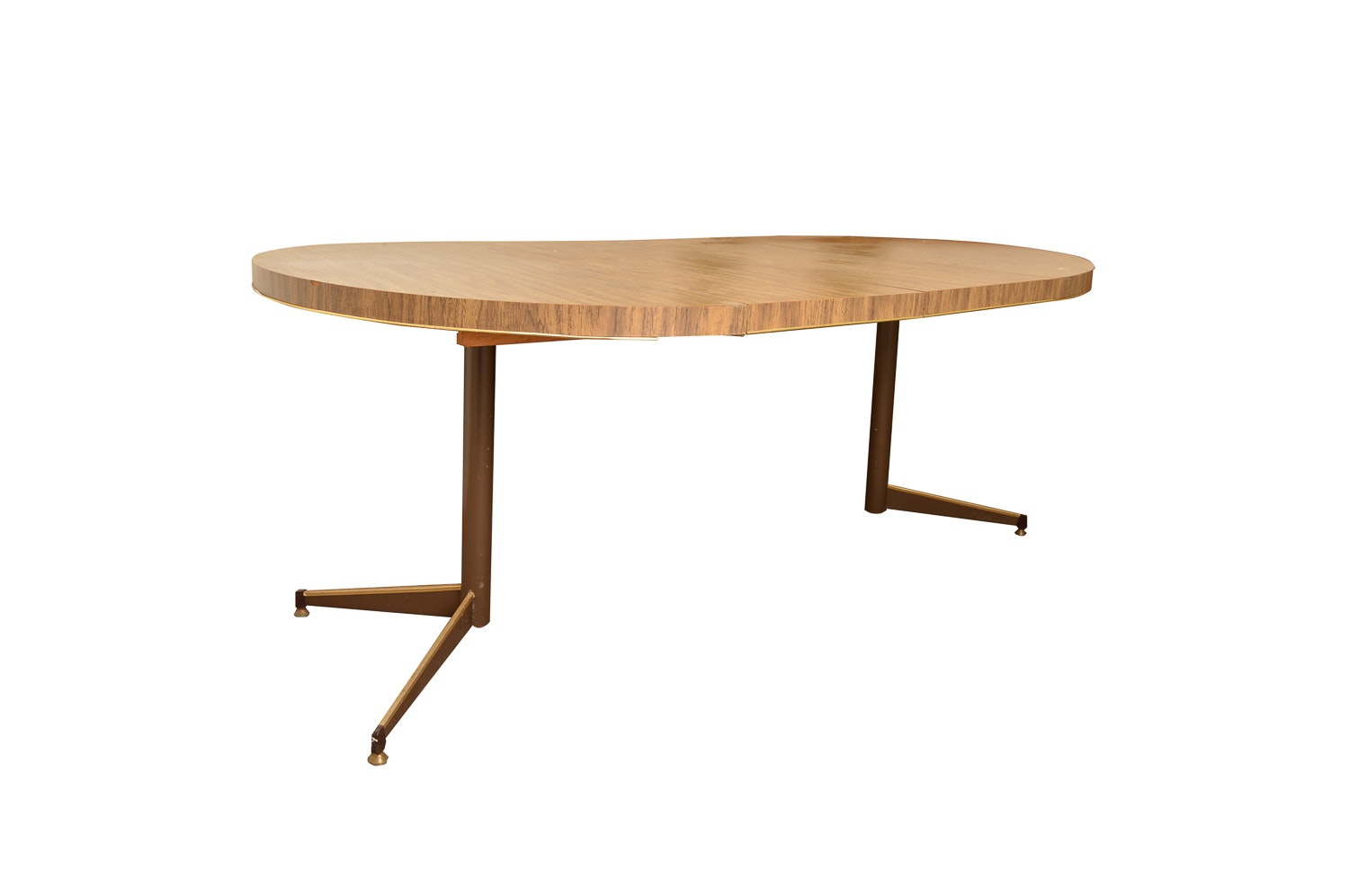 Mid-Century Oval Dining Table