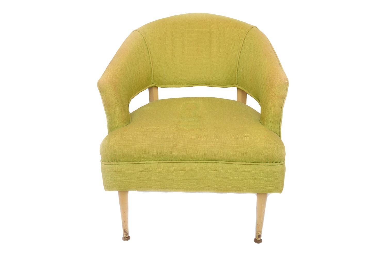 Mid Century Modern Barrel Back Chair