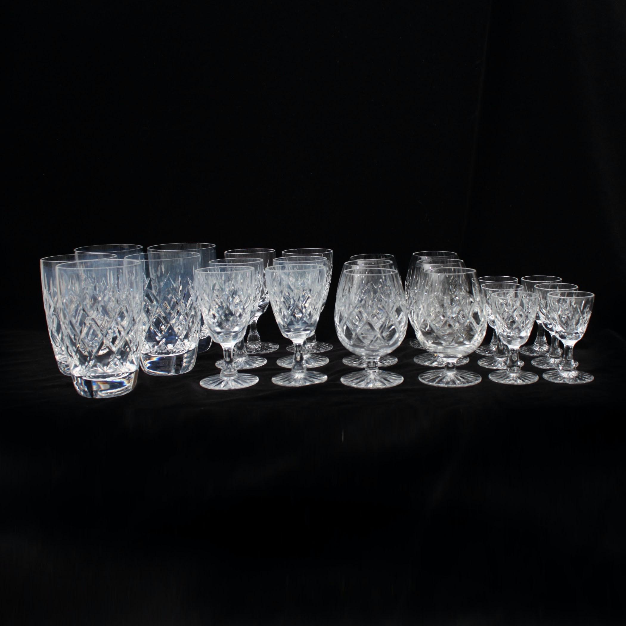 Webb Corbett Crystal Glassware
