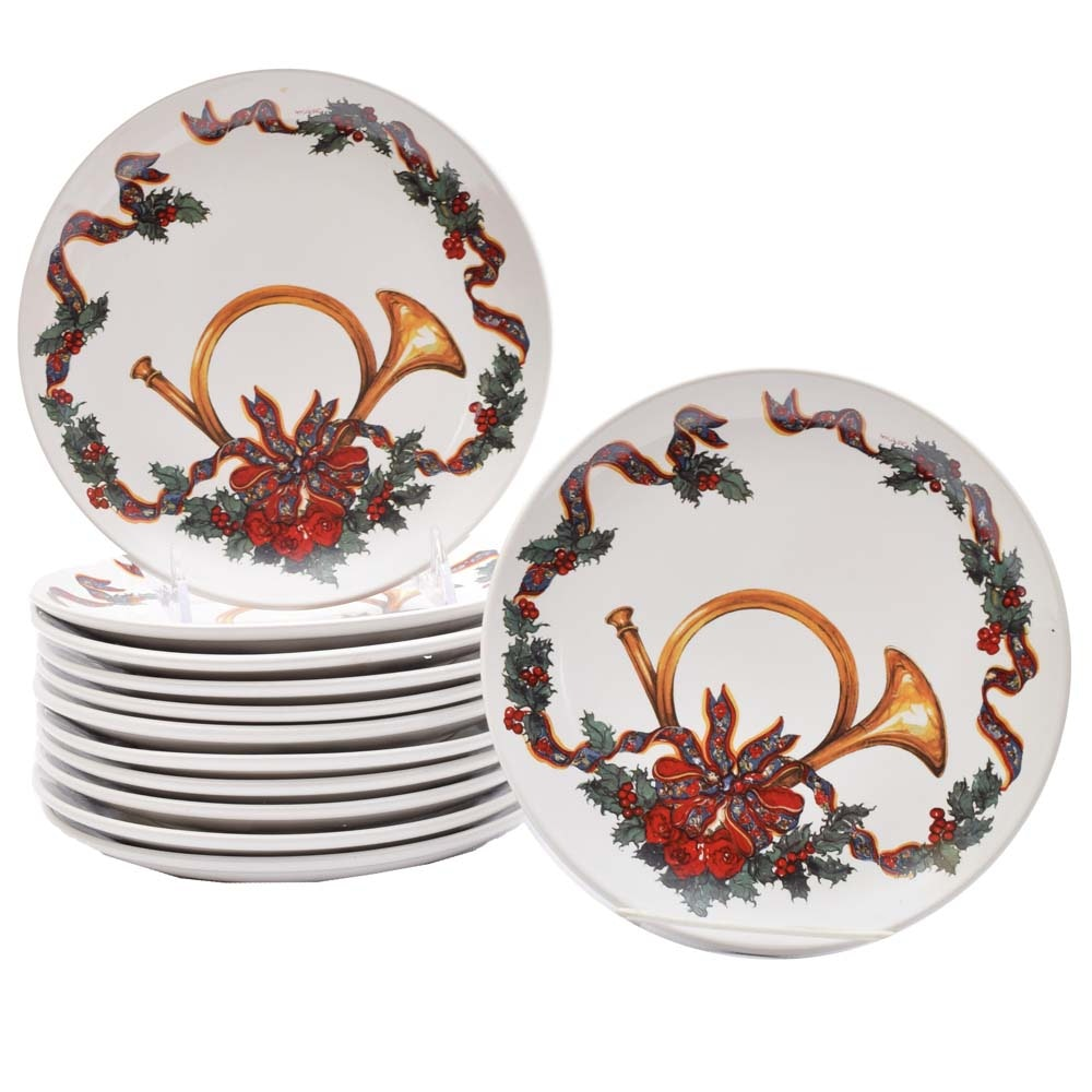 "Potpourri Press ""Triumphant"" Dessert Plates"