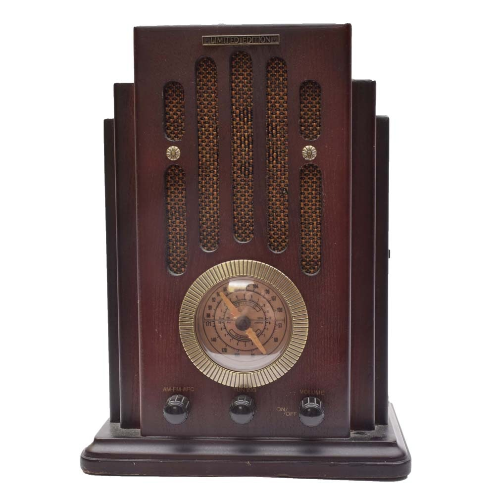Limited Edition Divine AM/FM Radio and Cassette Player