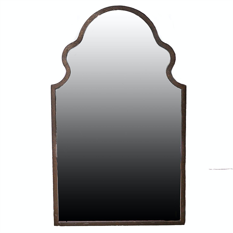 Venetian Style Metal Framed Wall Mirror
