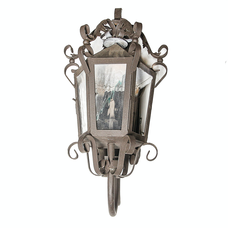 Ornate Metal Coach Gas Lantern