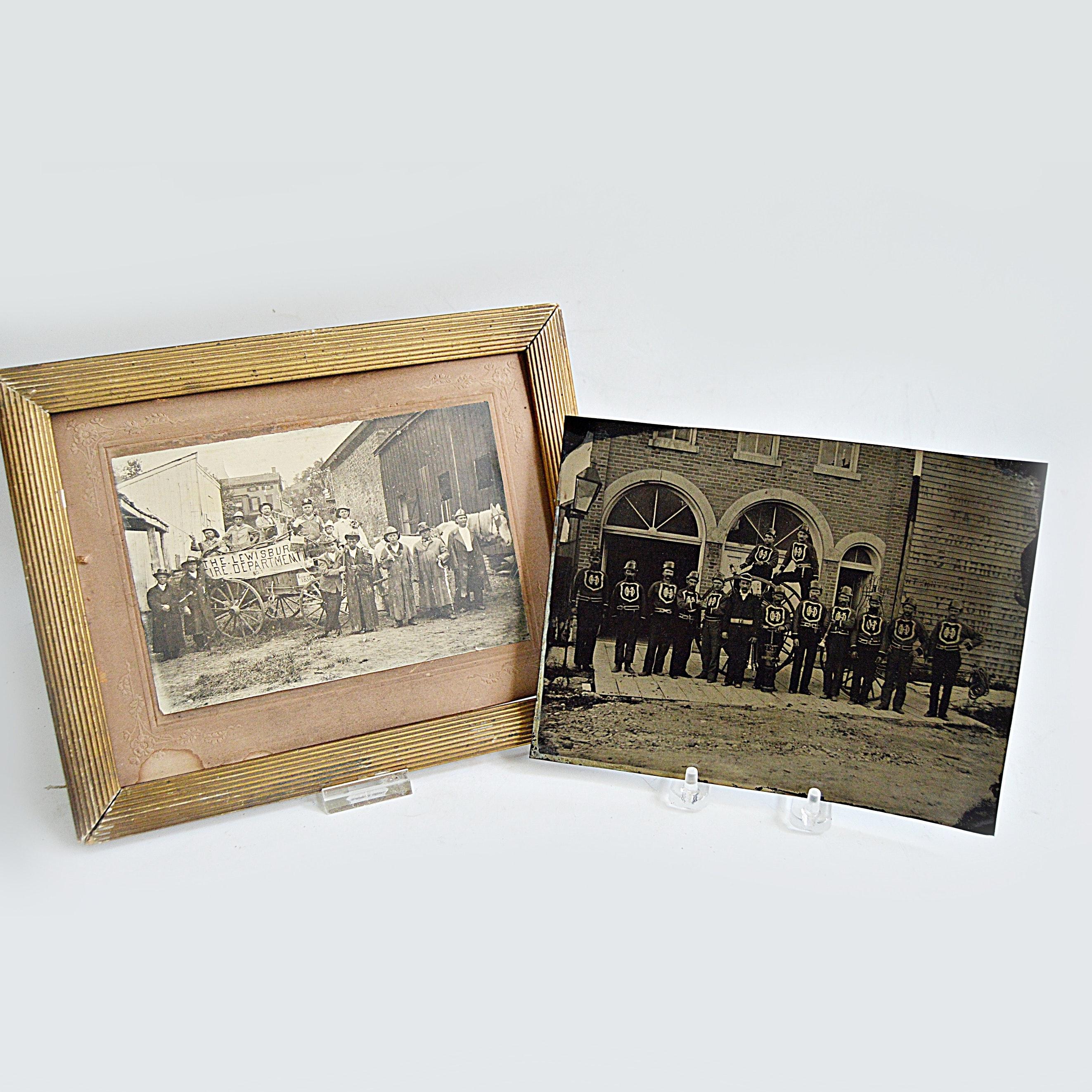 Vintage Fire Department Photographs