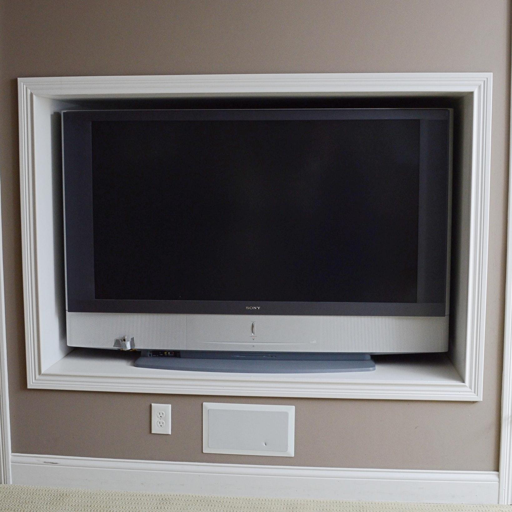 """Sony Bravia Grand Wega 60"""" LCD Television"""